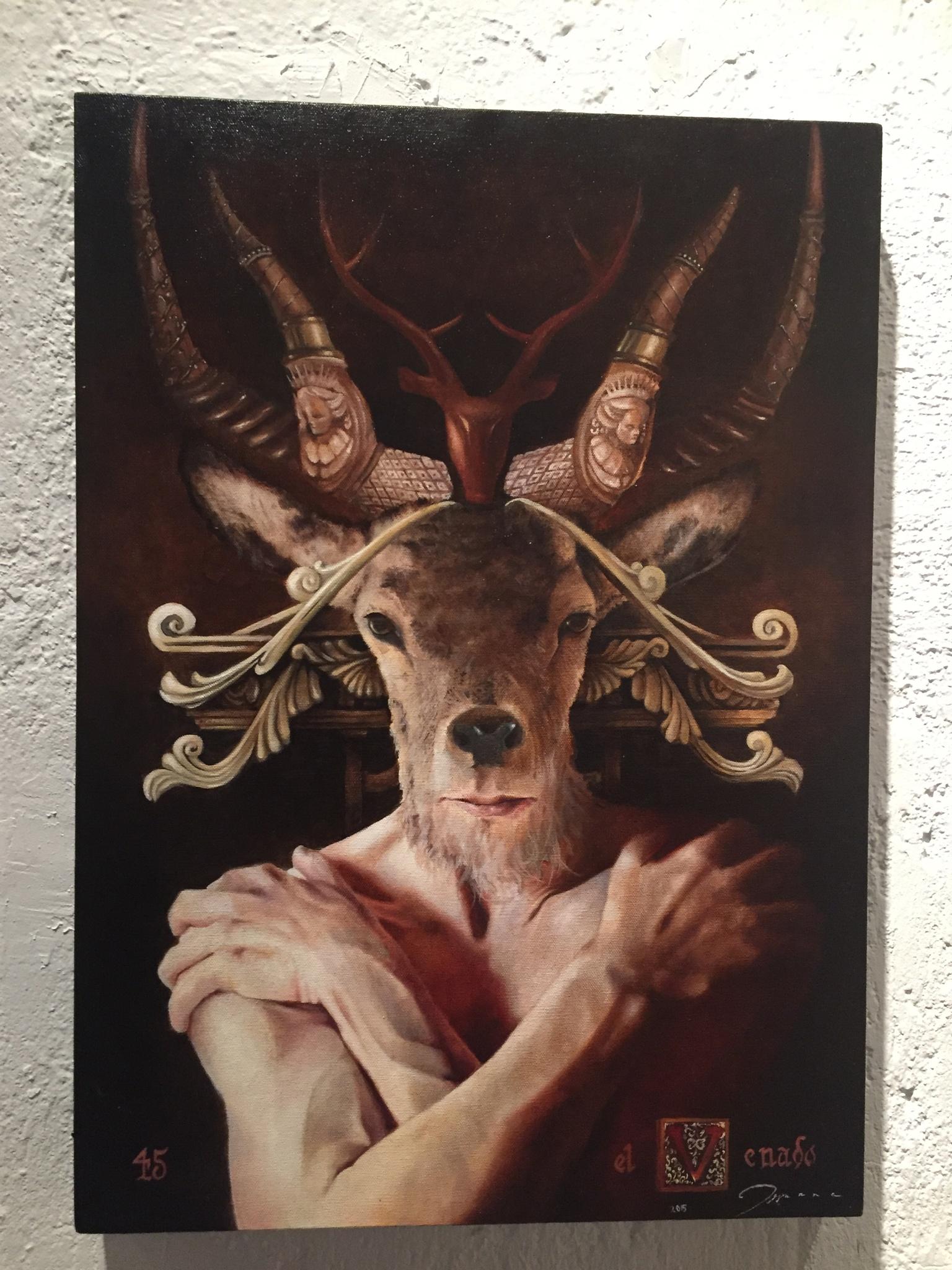 The Deer by Amir  Fajardo