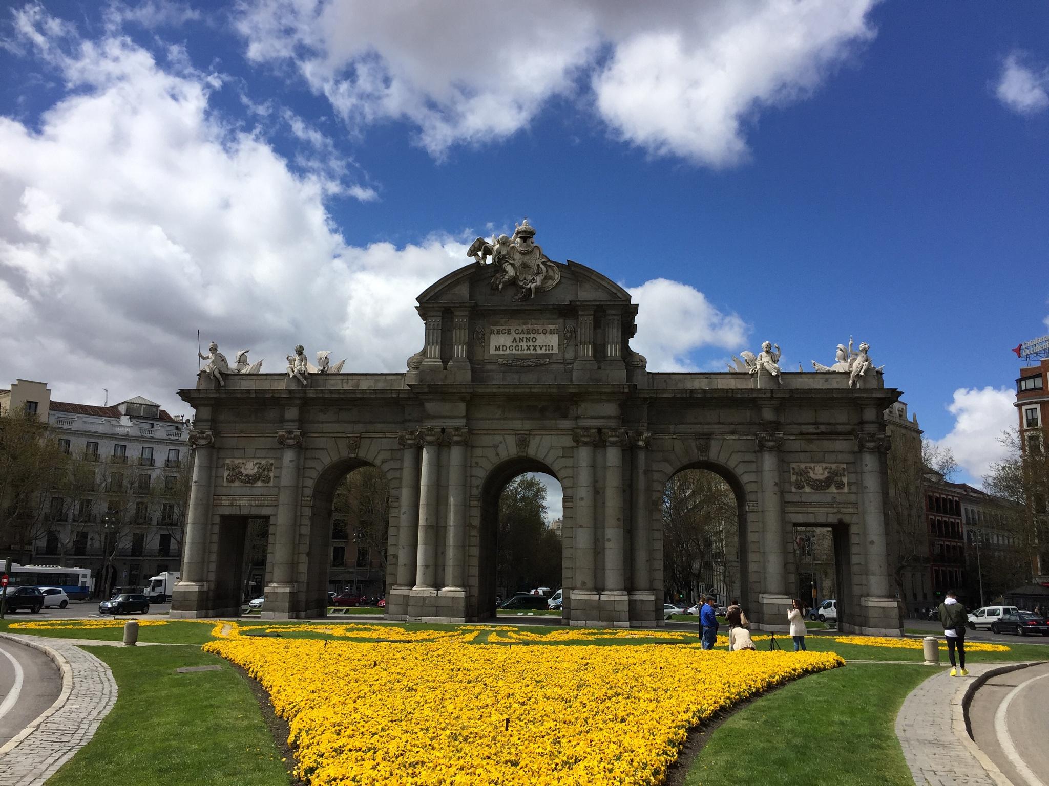 Puerta de Alcalá  by Amir  Fajardo