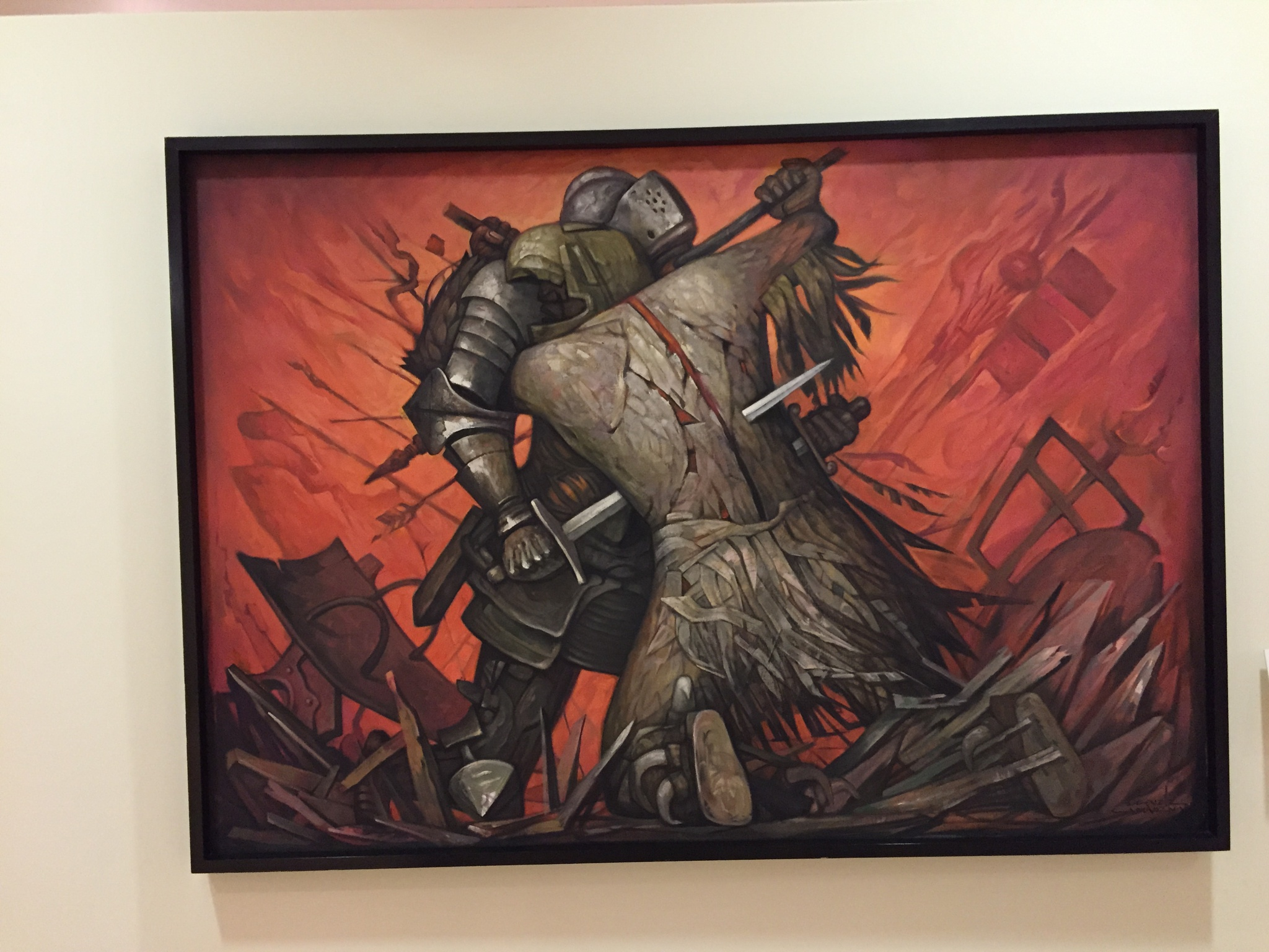 Knights at War  by Amir  Fajardo