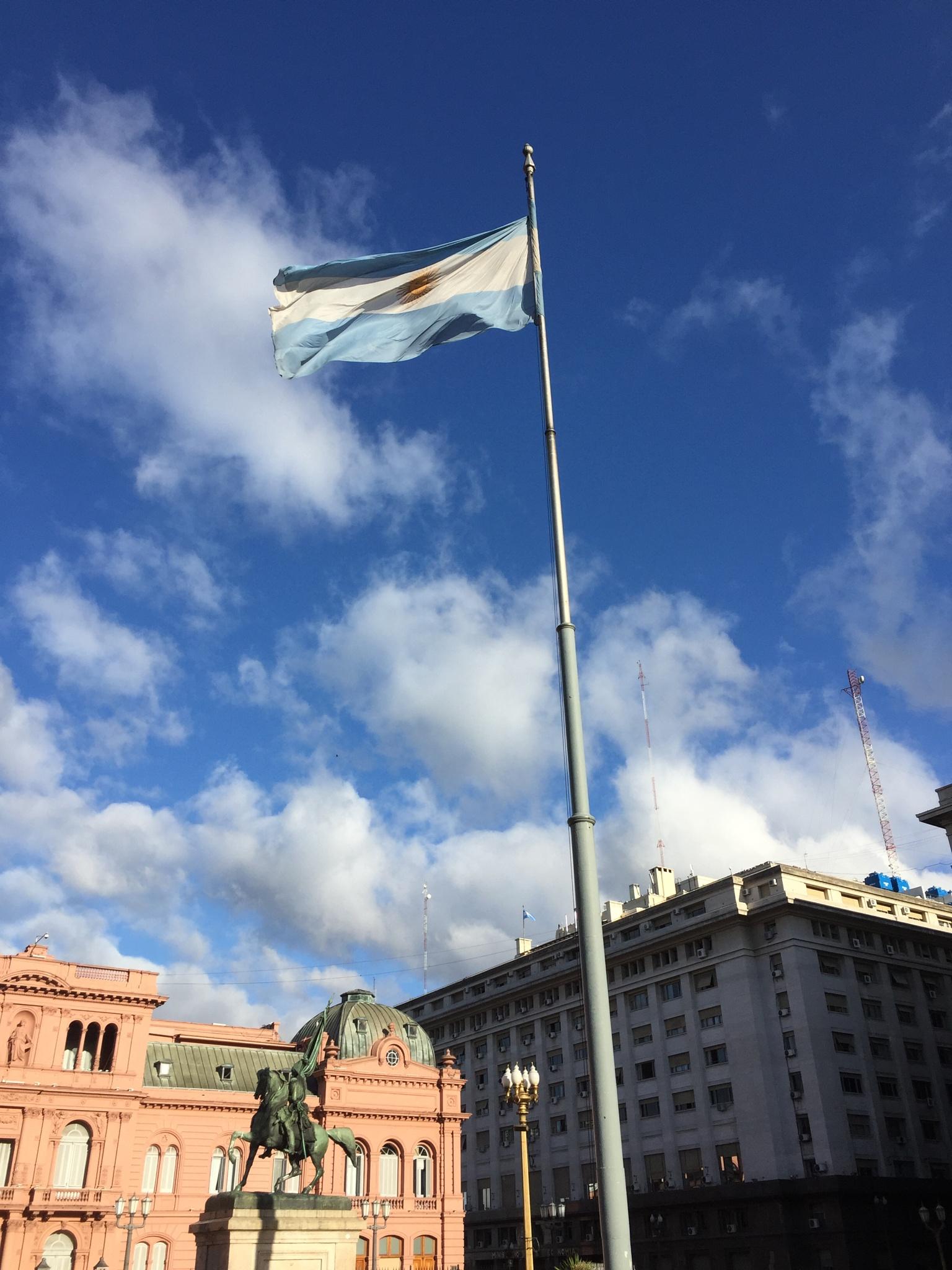 Argentinian Flag by Amir  Fajardo