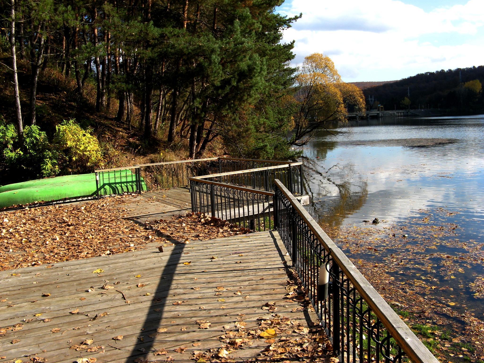 Near the lake by Gratiela