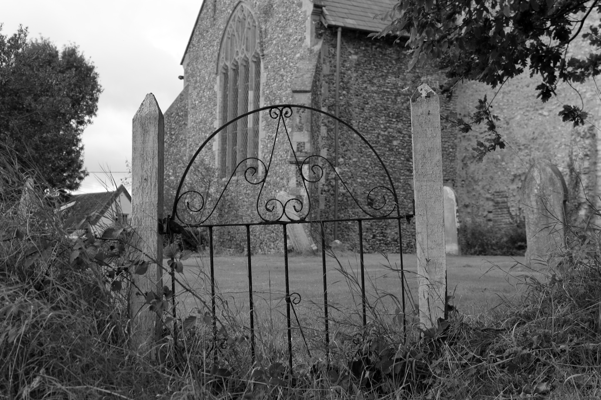 Gate by Peter Atthill