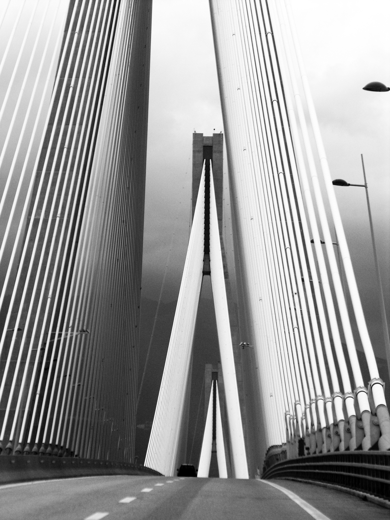 Bridge over the Gulf of Korinth by Fabio Dal Barco