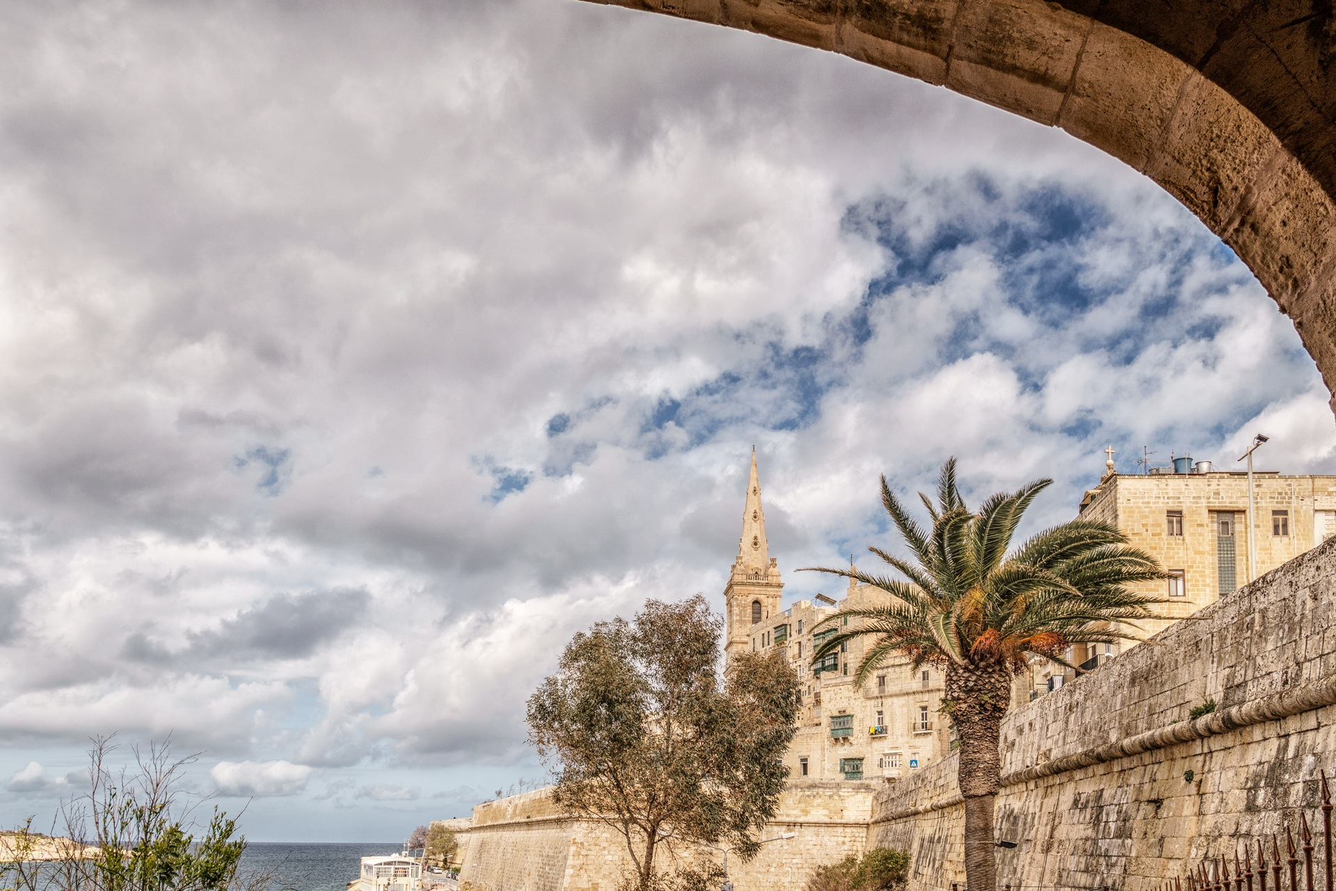 Obstructed view to Valletta by Venelin Todorov