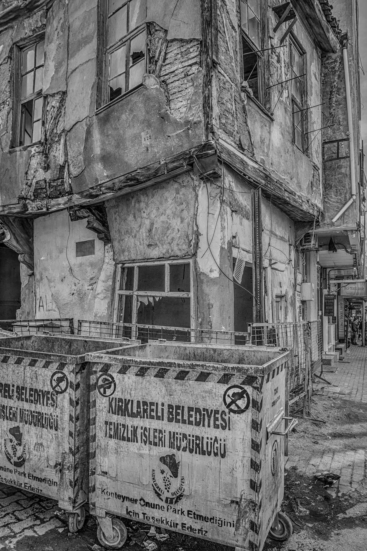Abandoned _B&W by Venelin Todorov