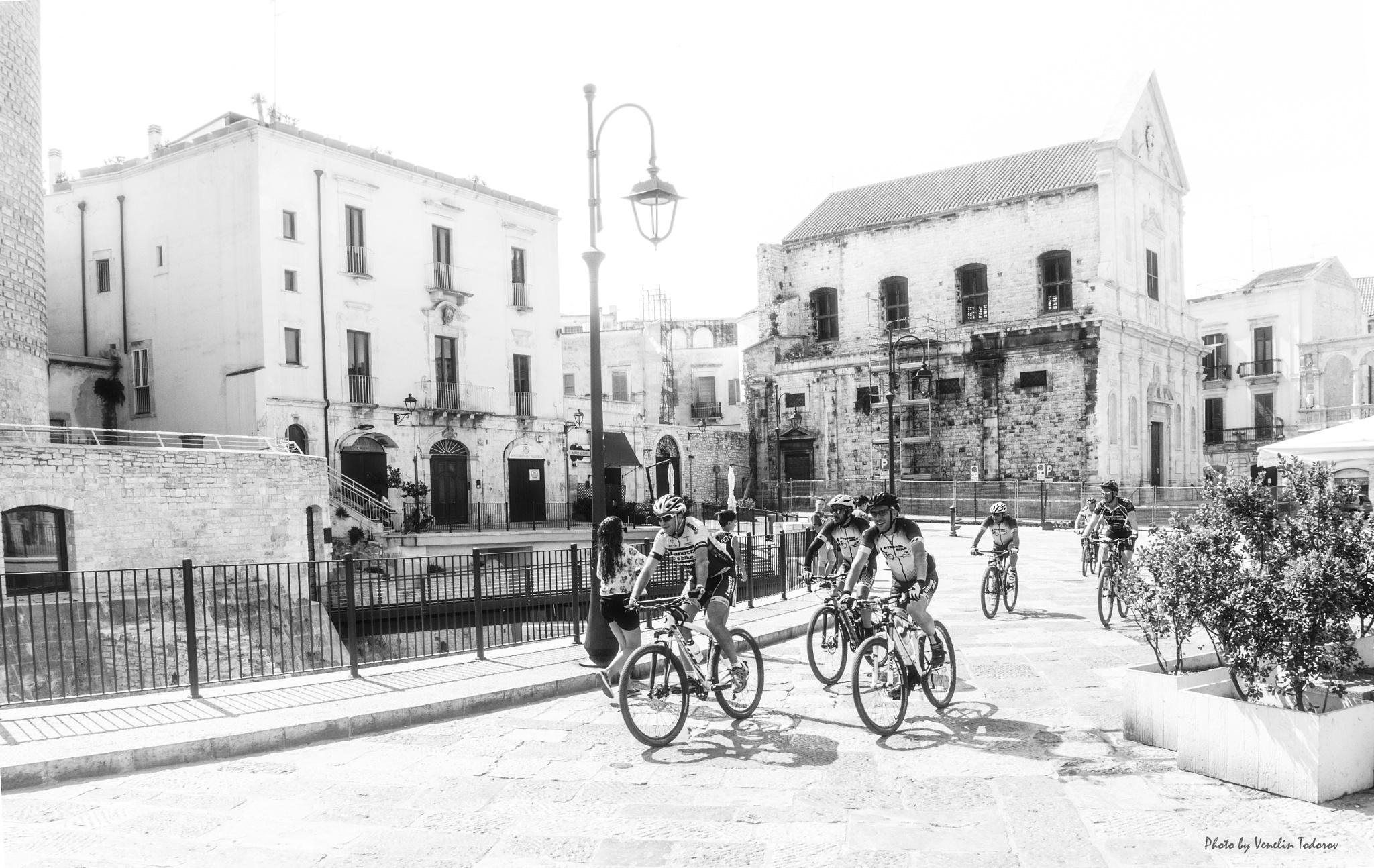 Cyclists by Venelin Todorov