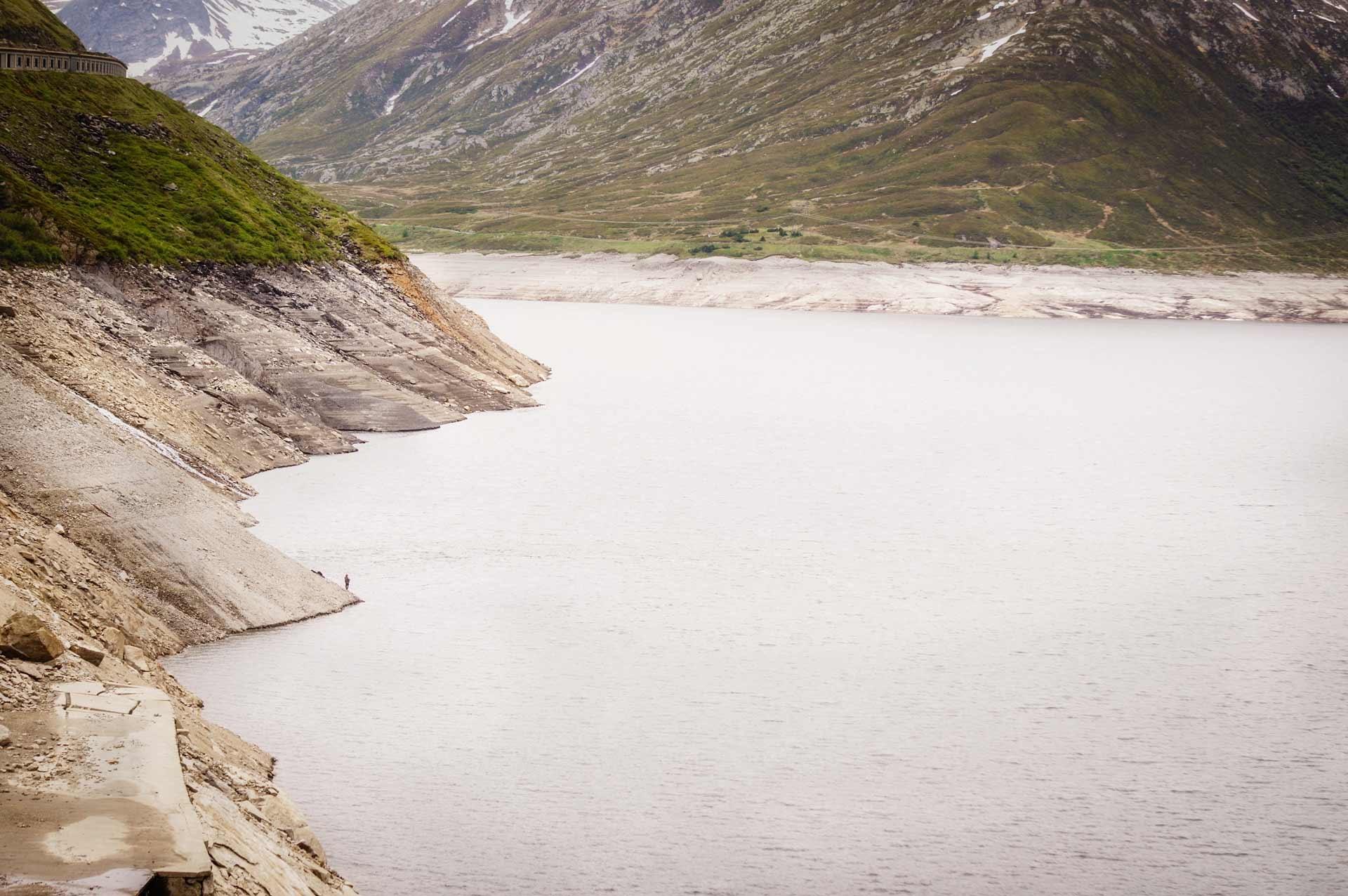 Dam in Alps by Venelin Todorov