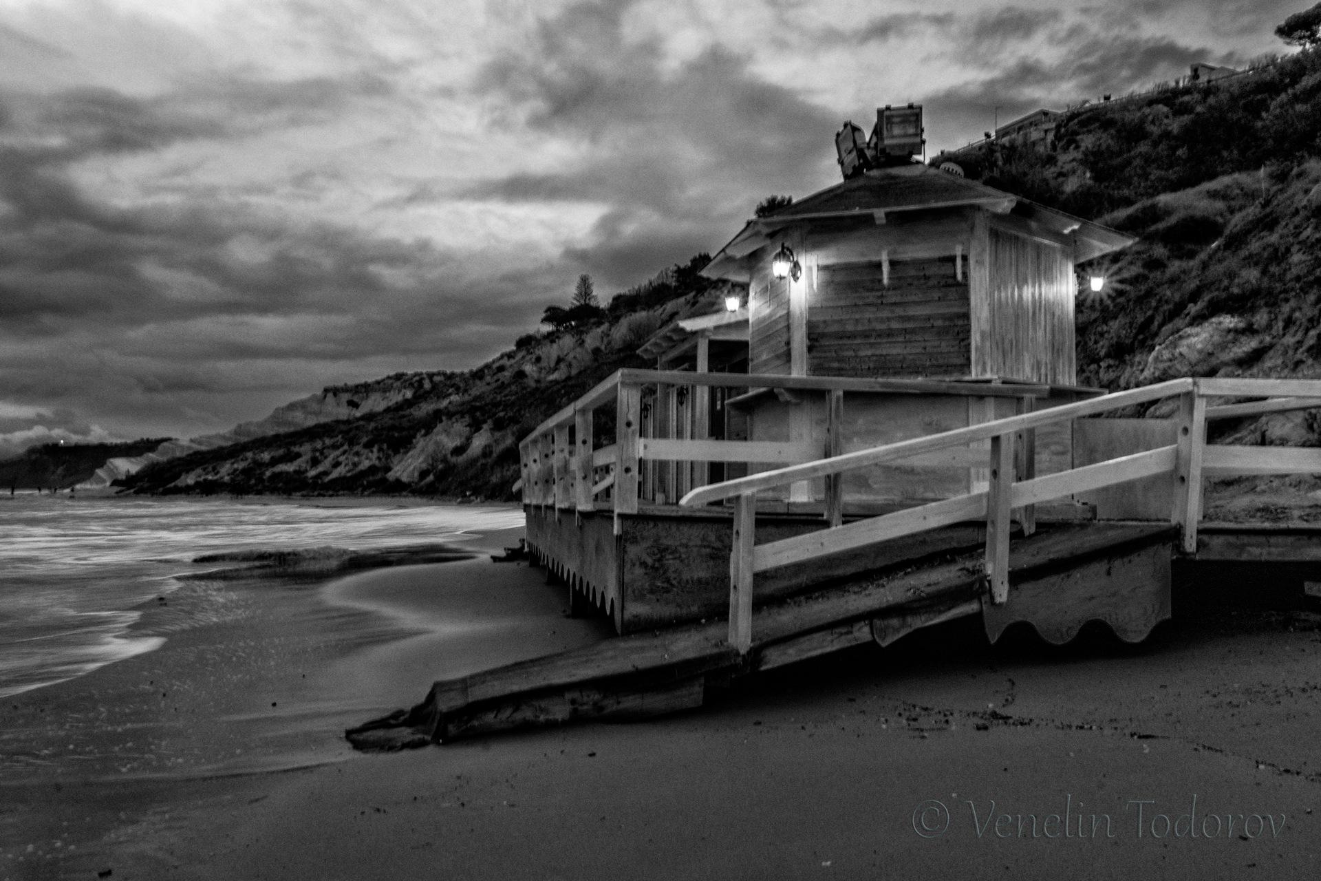 On the beach by Venelin Todorov