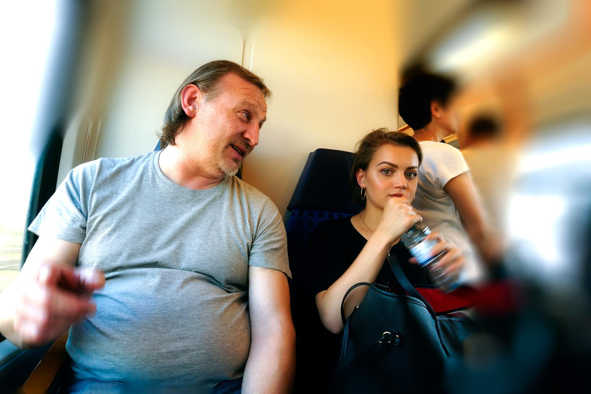 In train by Venelin Todorov