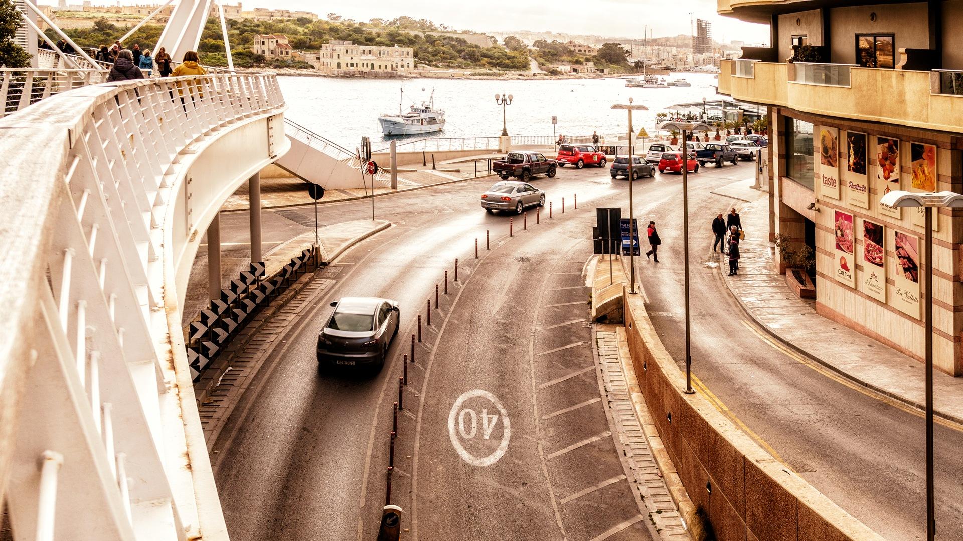 Cloud evening in Valletta  by Venelin Todorov