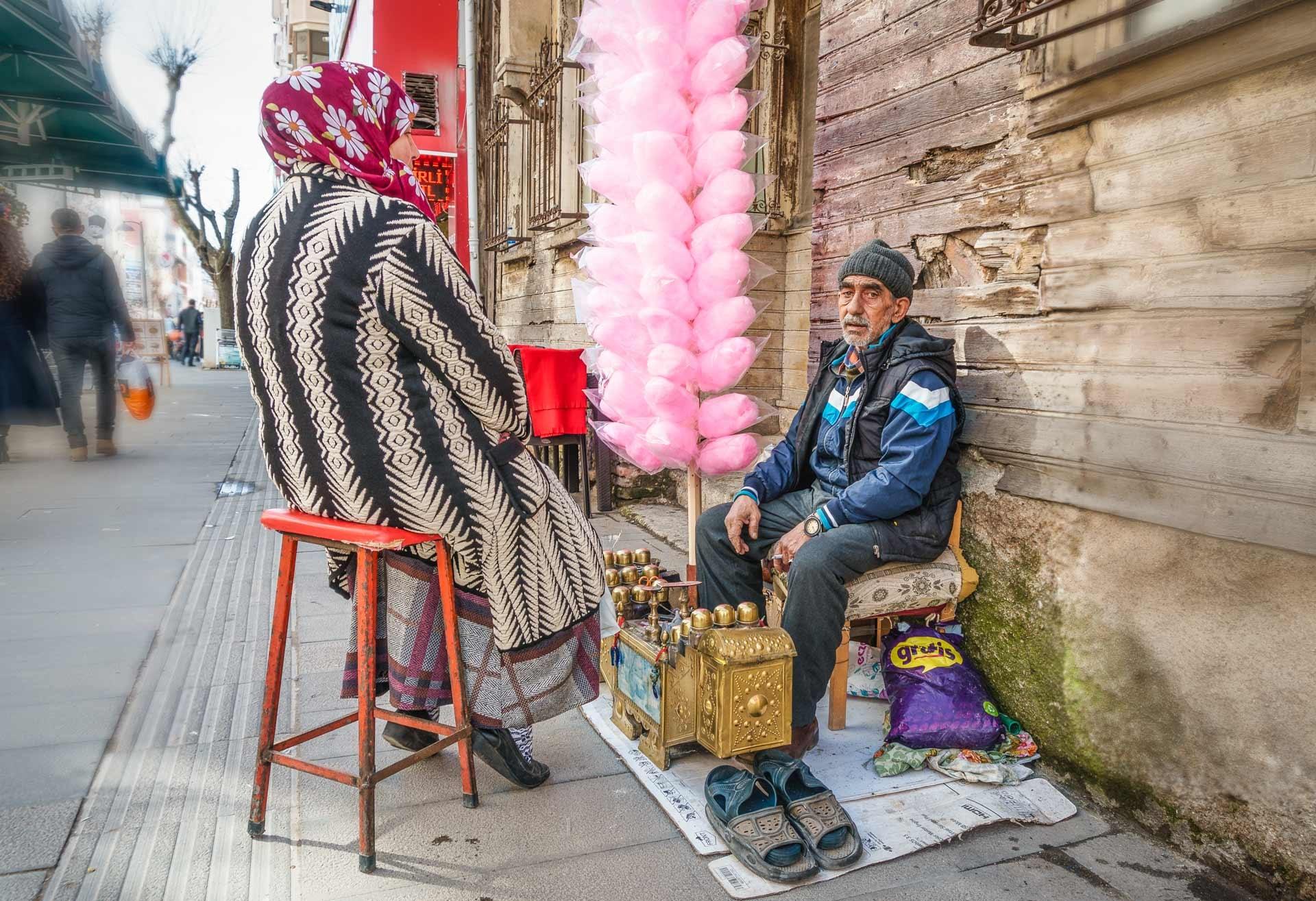 On the street - bootblack by Venelin Todorov