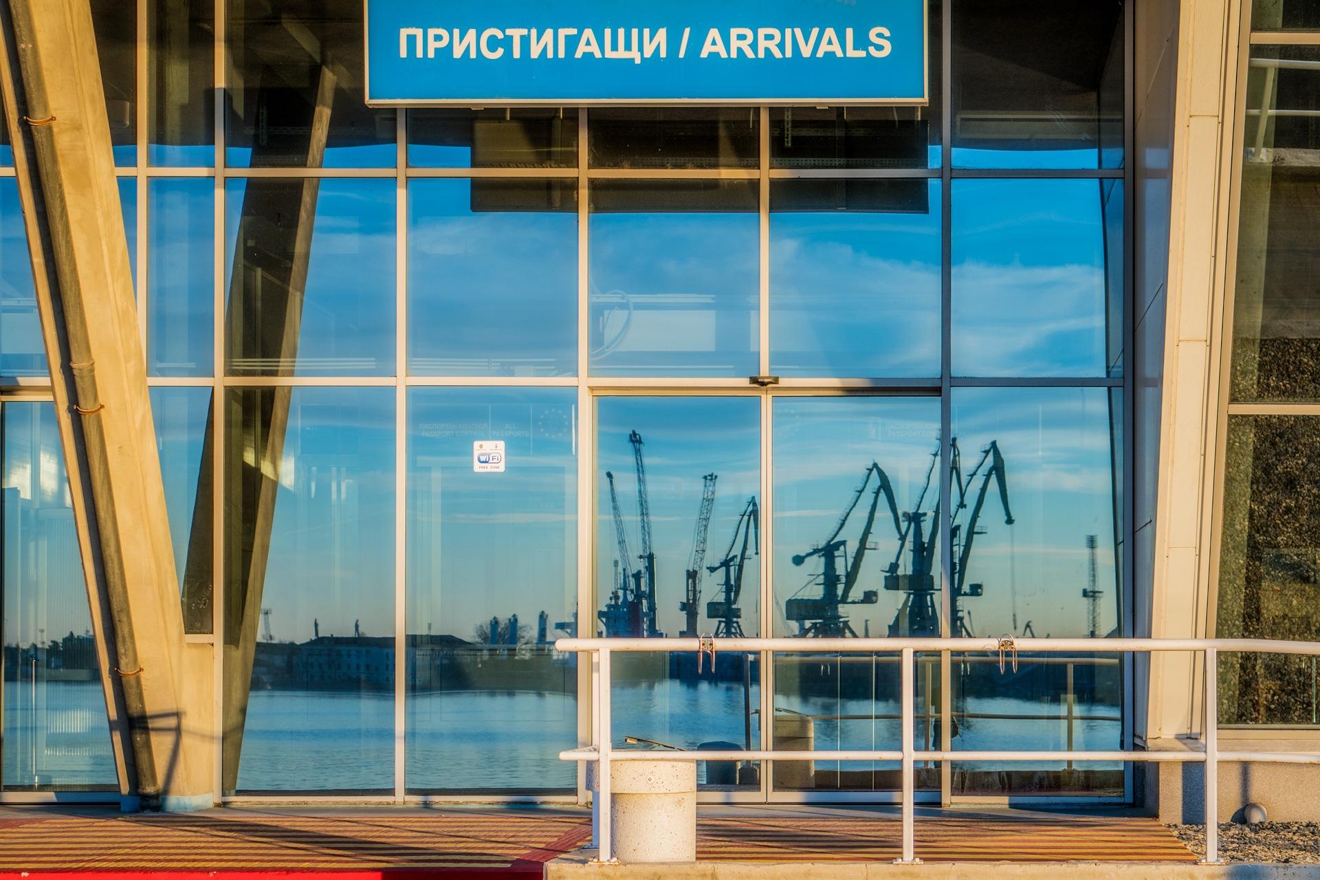 Sea passenger terminal  by Venelin Todorov