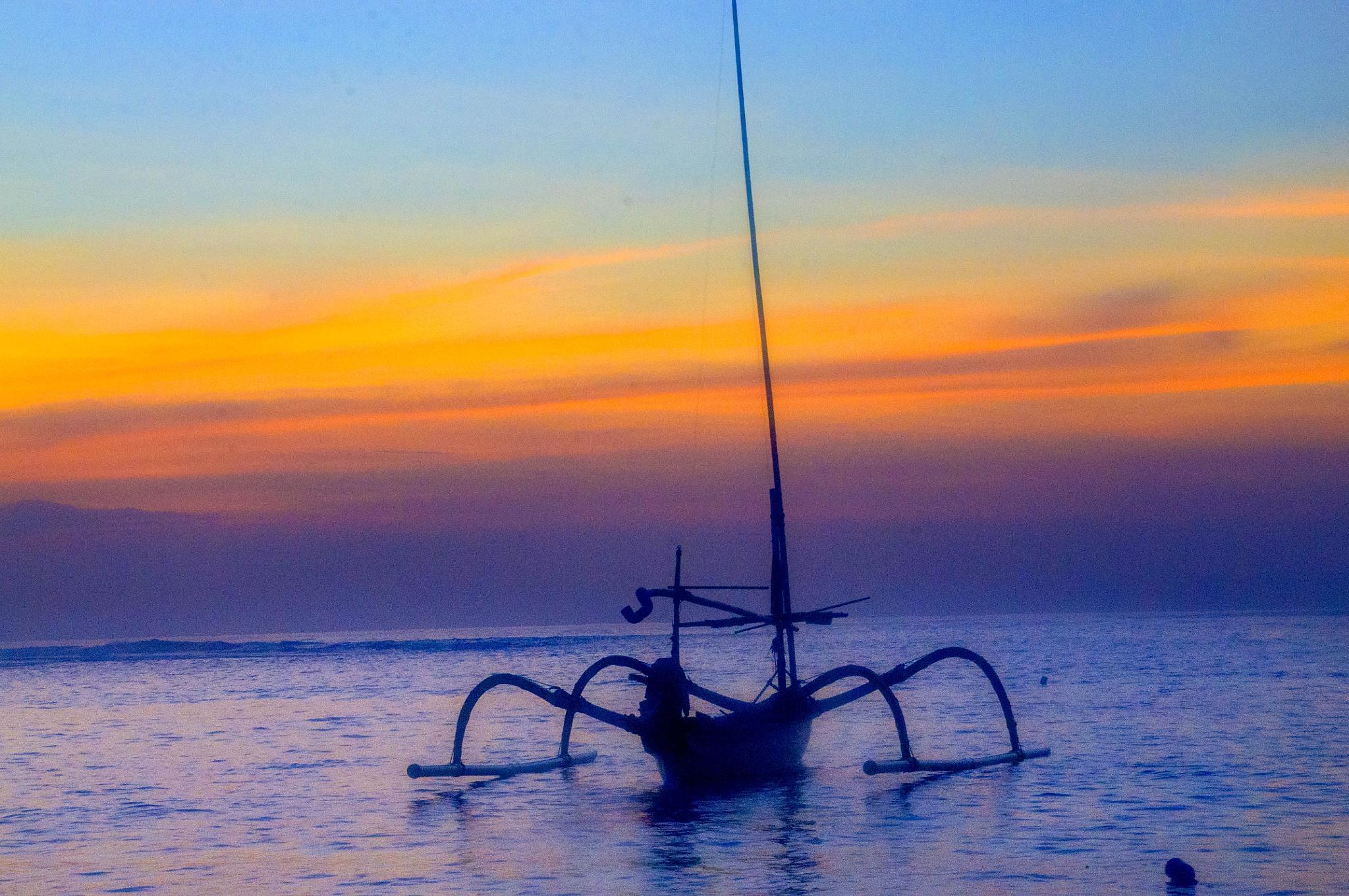 sunrise on Nusa Dua Bali by nurdinrivai