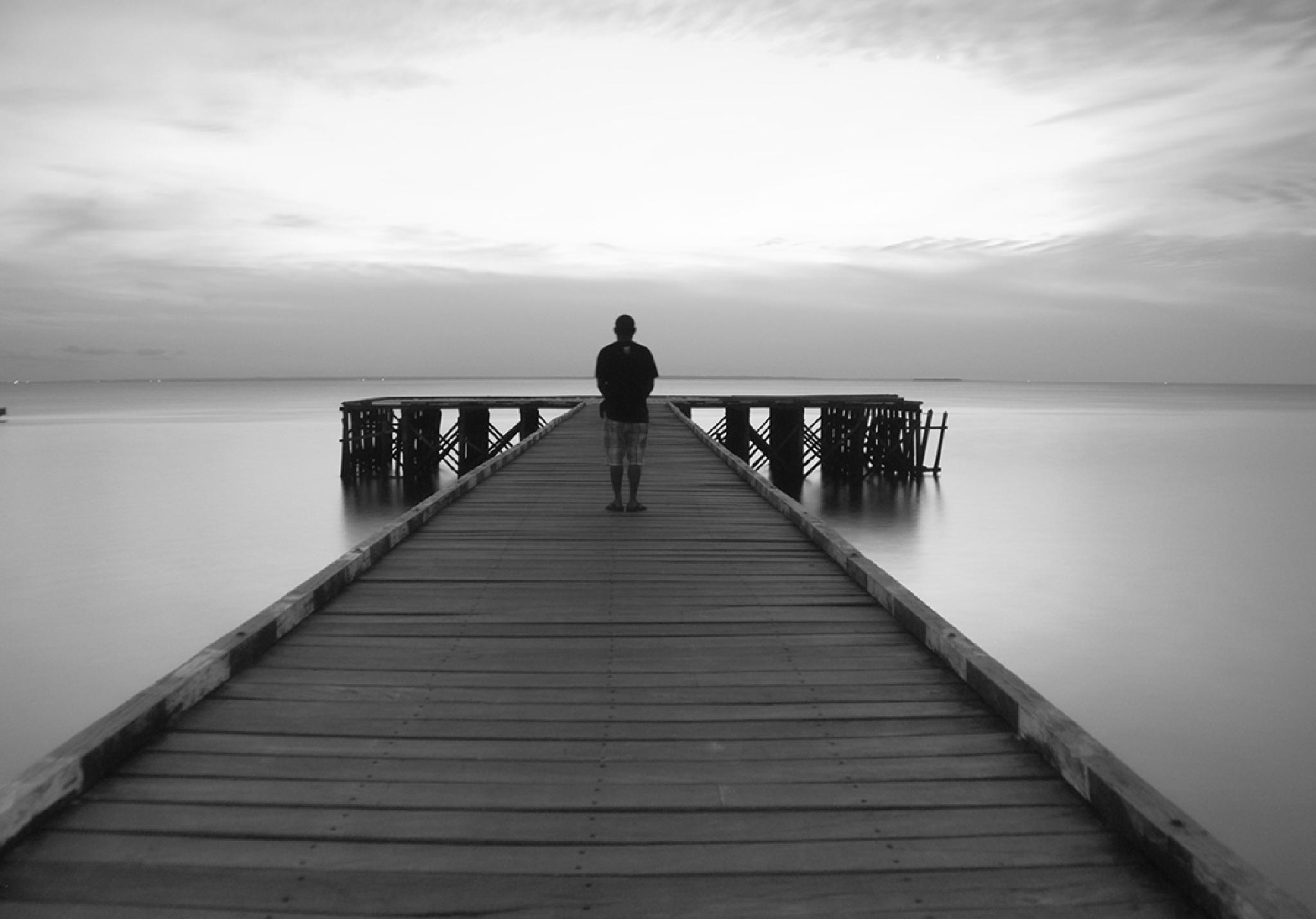 lonely man by nurdinrivai