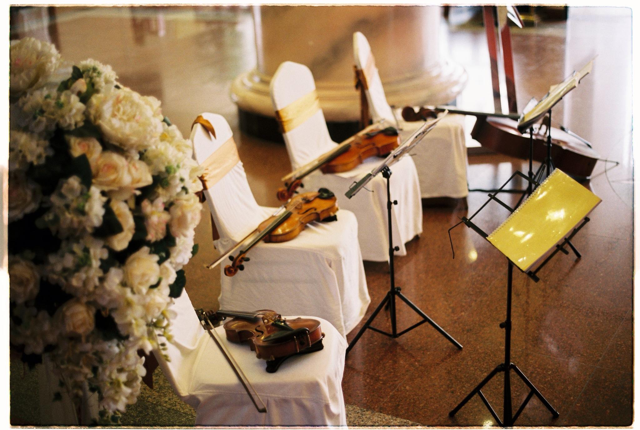 Wedding day by Mai Tran
