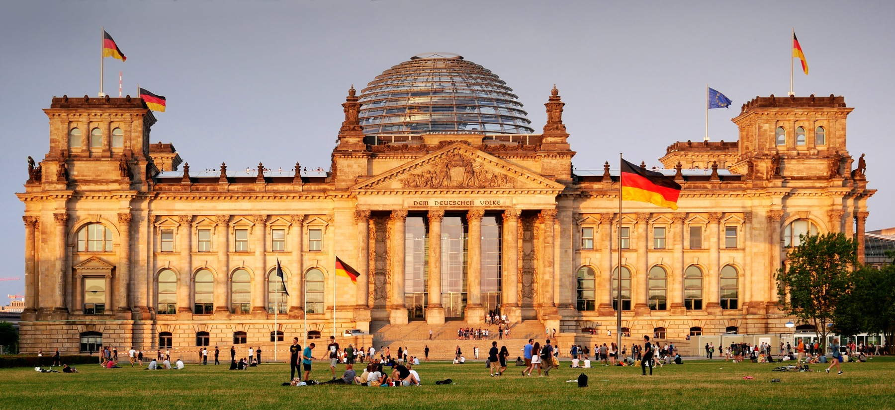 Der Bundestag by Fred Obermann