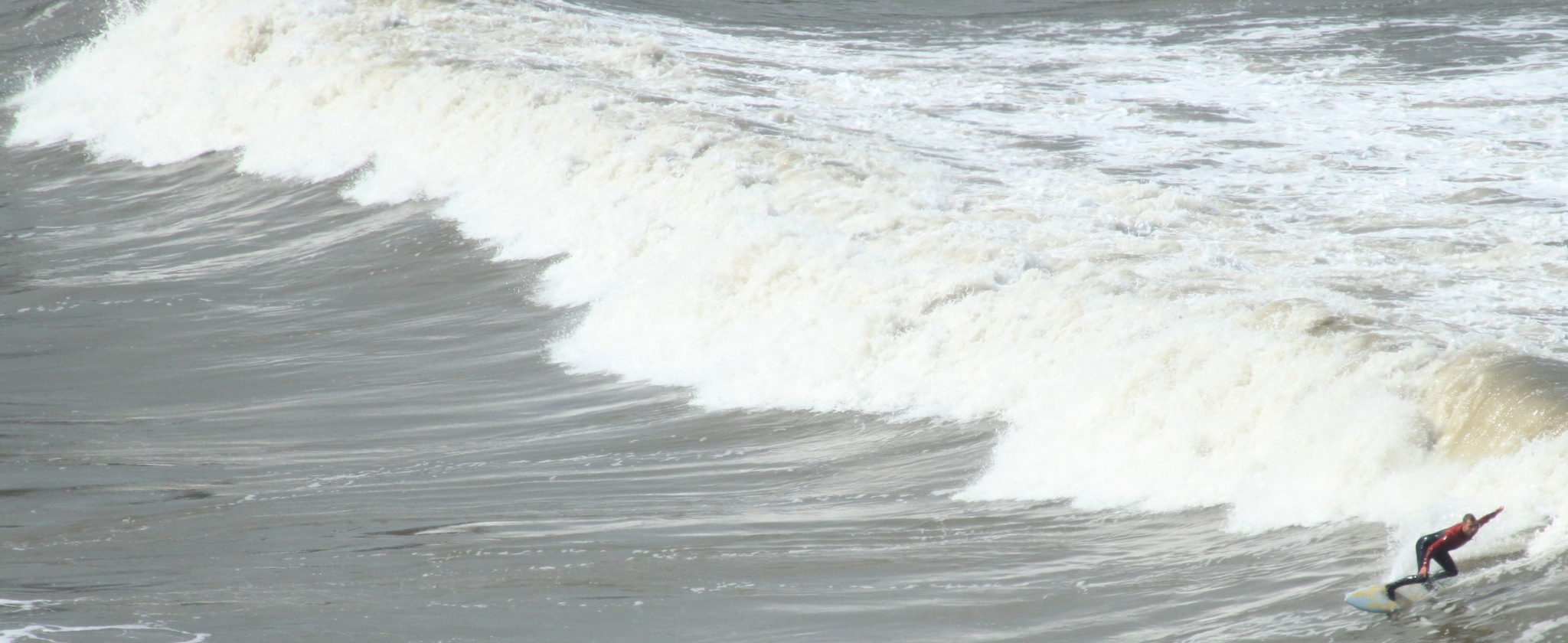 Wave caught by AJ Yakstrangler Andy Jamieson
