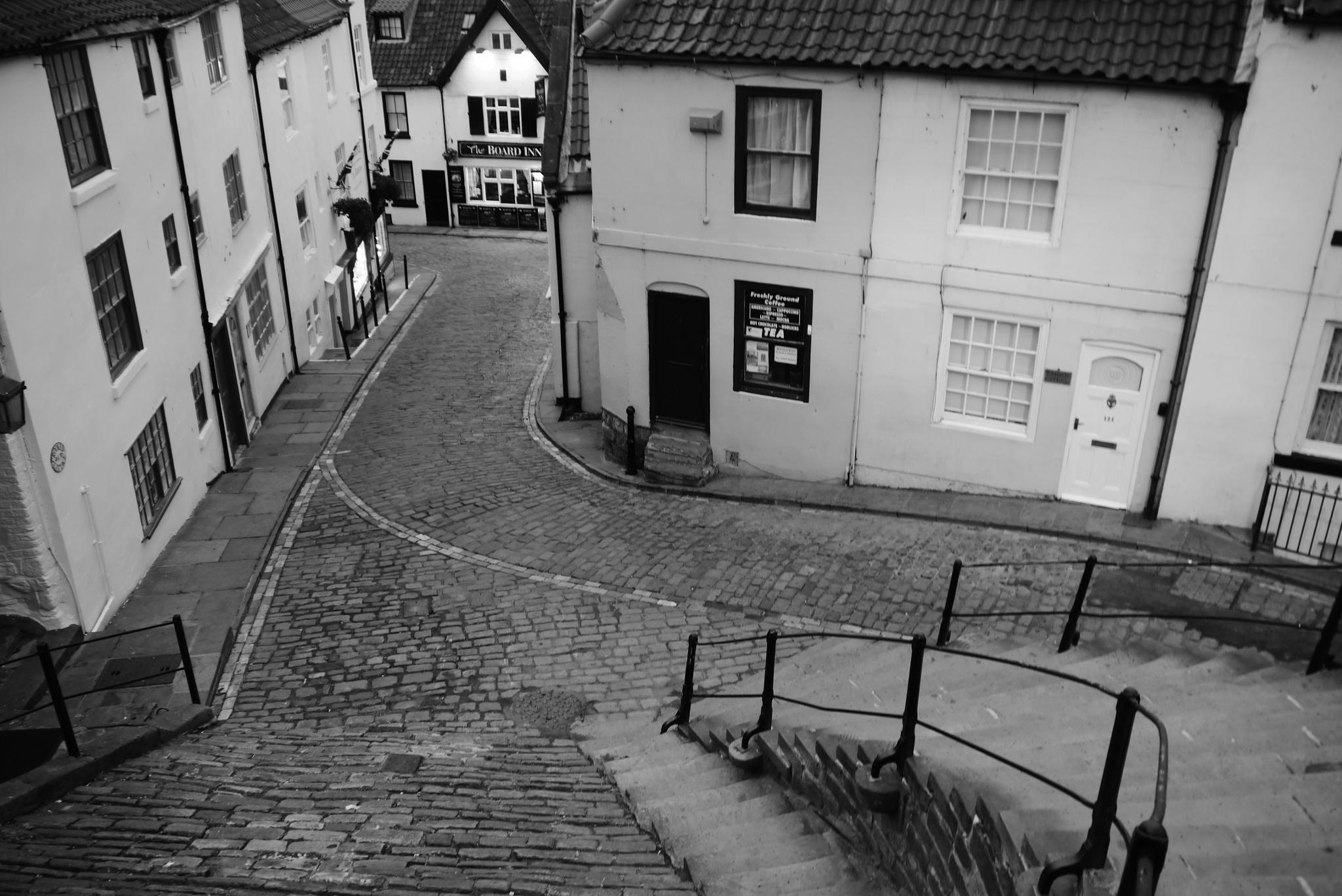 Abbey steps by AJ Yakstrangler Andy Jamieson