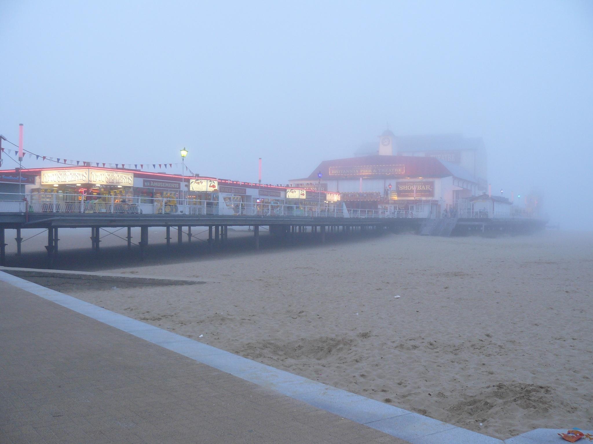 Pier mist by AJ Yakstrangler Andy Jamieson