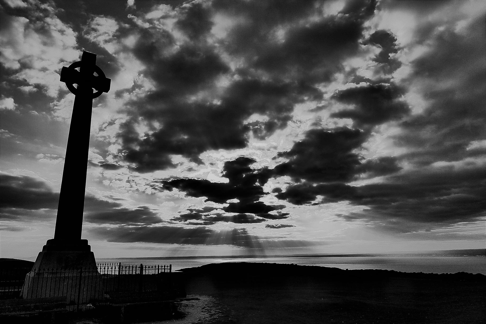 Dark cross by AJ Yakstrangler Andy Jamieson