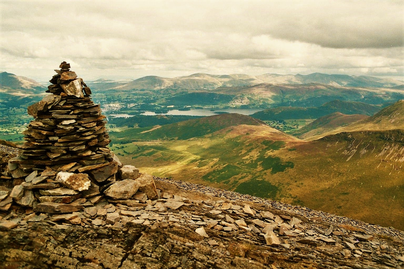 Cairn view by AJ Yakstrangler Andy Jamieson