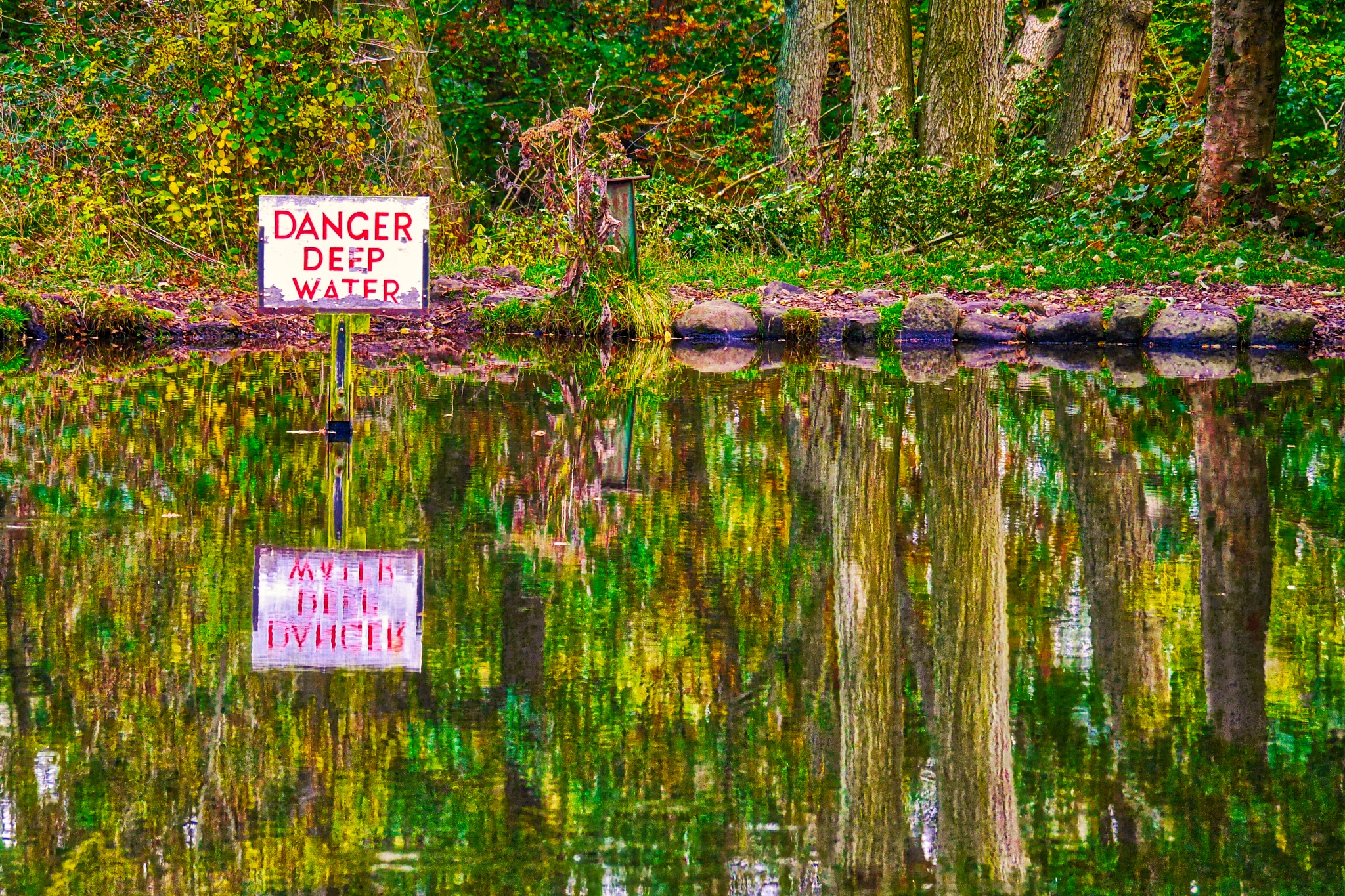 Wet reflection Danger by AJ Yakstrangler Andy Jamieson