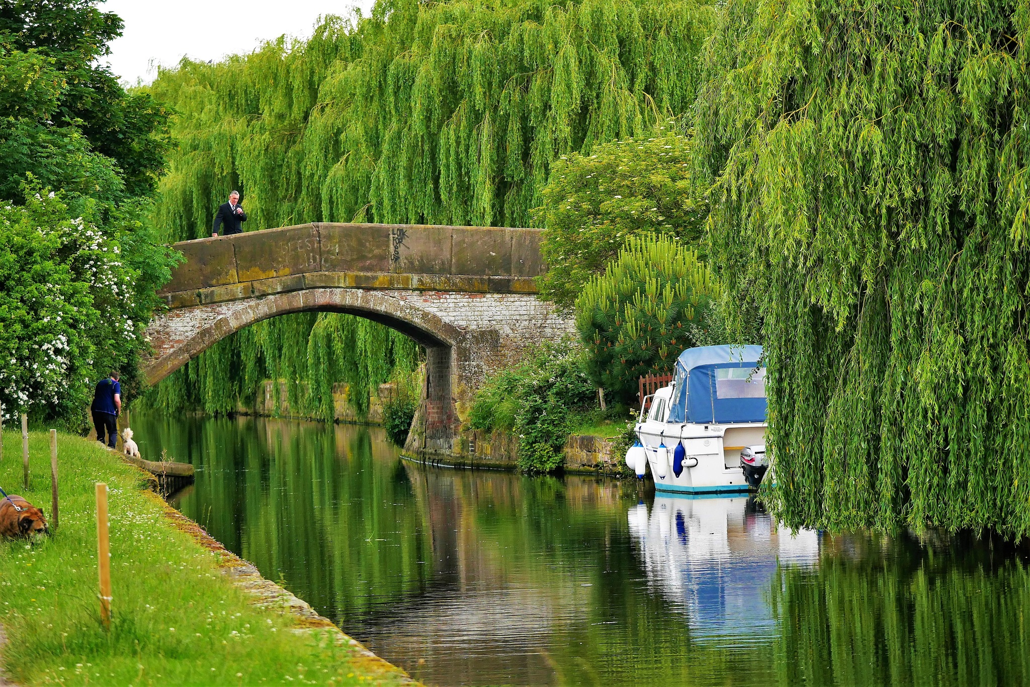 Green canal by AJ Yakstrangler Andy Jamieson