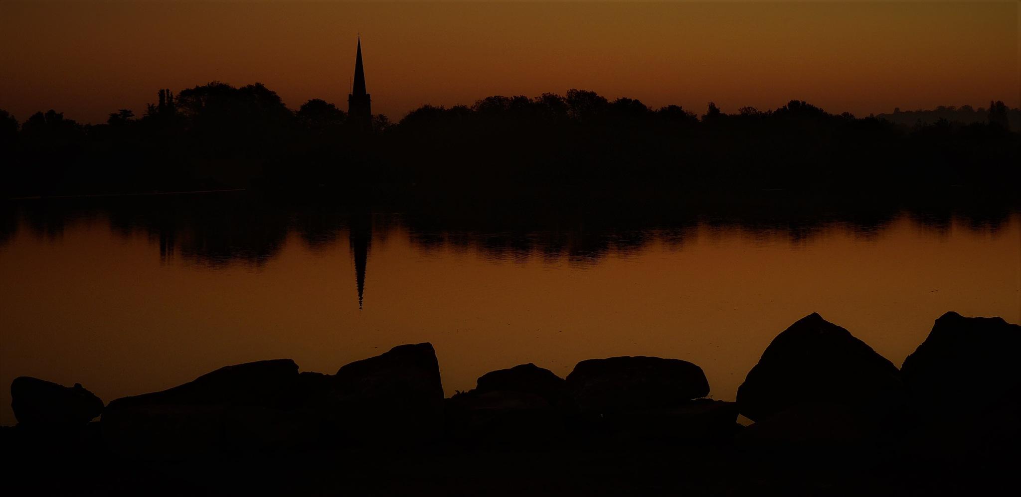 Evening church by AJ Yakstrangler Andy Jamieson