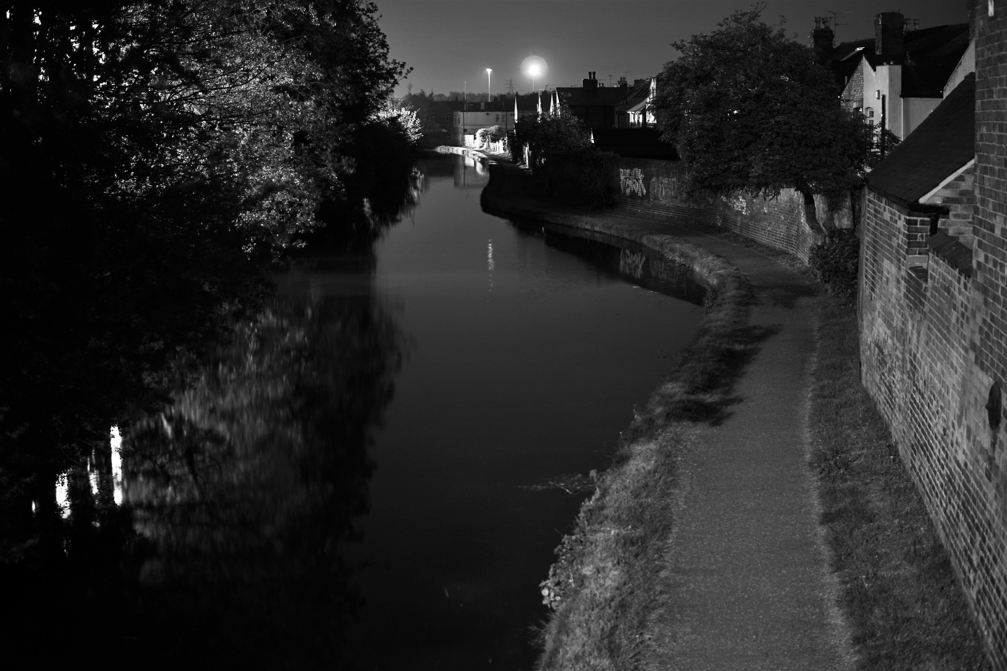 Night canal by AJ Yakstrangler Andy Jamieson
