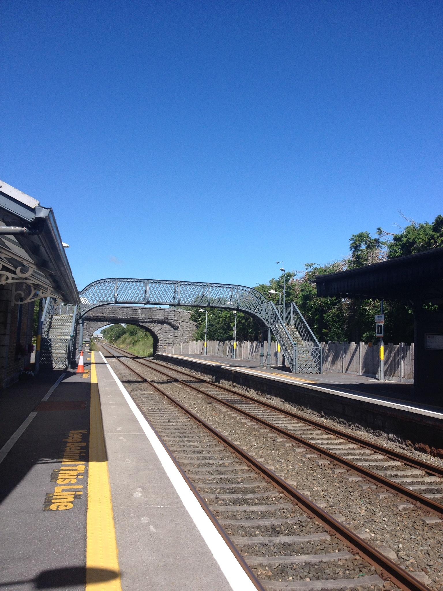 Anthery- train station- Ireland by Ravena Remigio