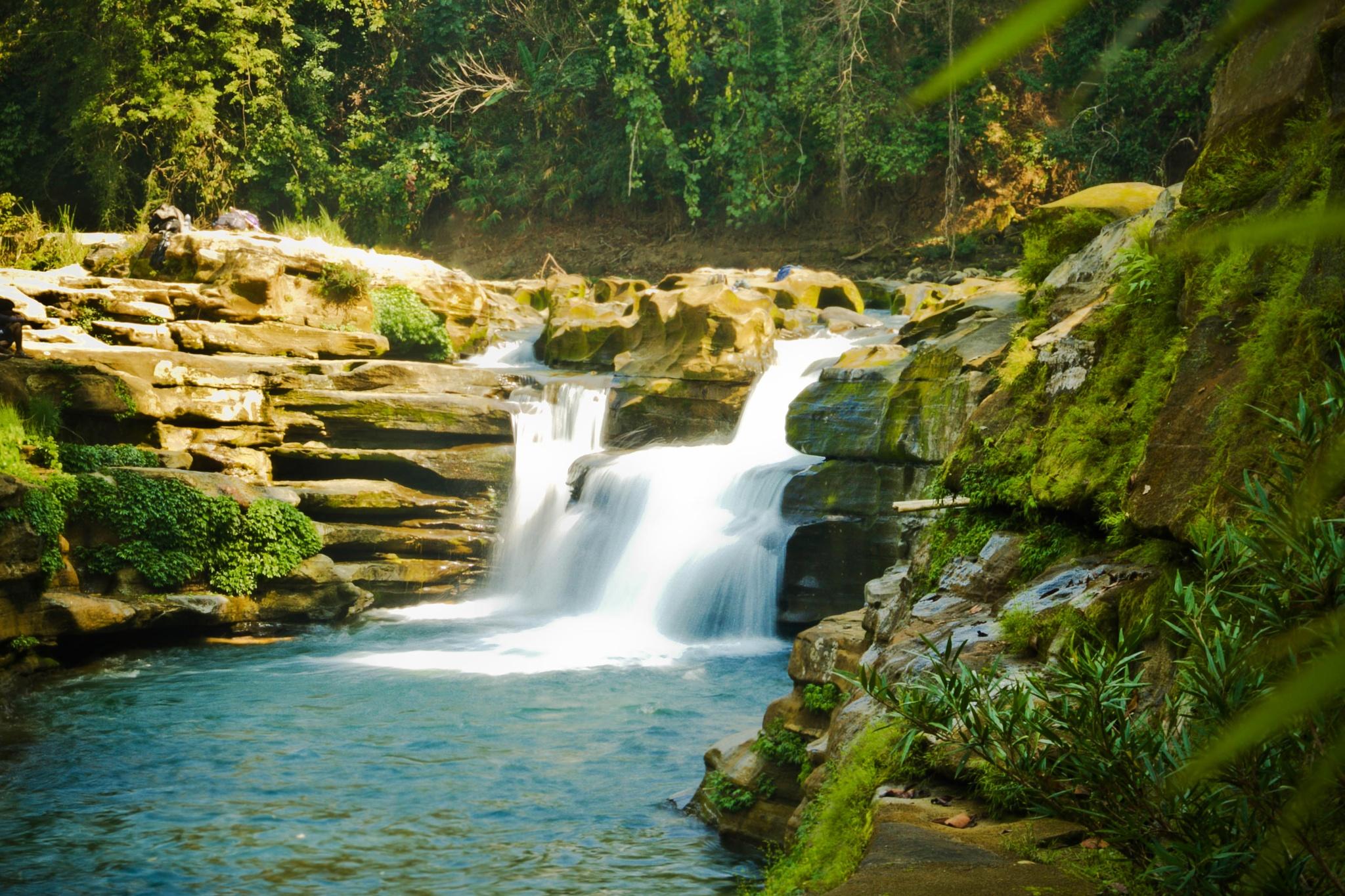 waterfall in Bangladesh by Mursadur Rahman Akash