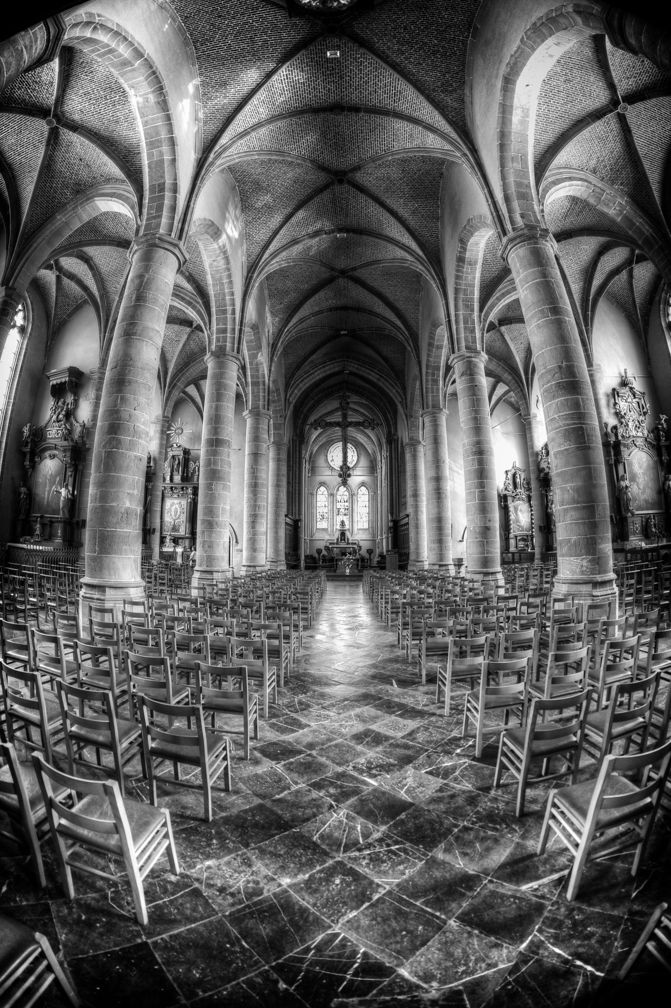 Chimay Church by hammarbytp