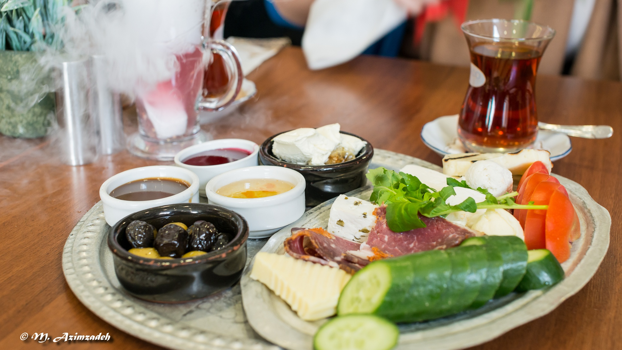 Turkish Breakfast by Mohammed Azimzadeh