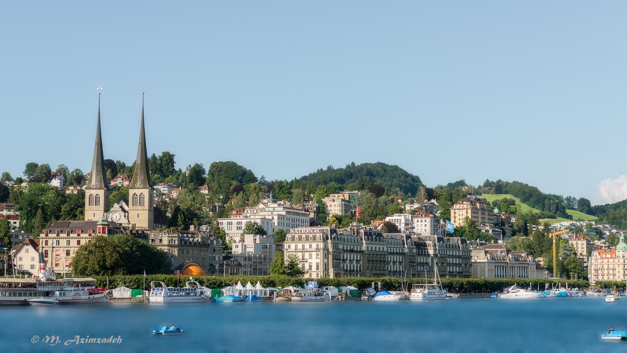 City Luzern in Switzerland by Mohammed Azimzadeh