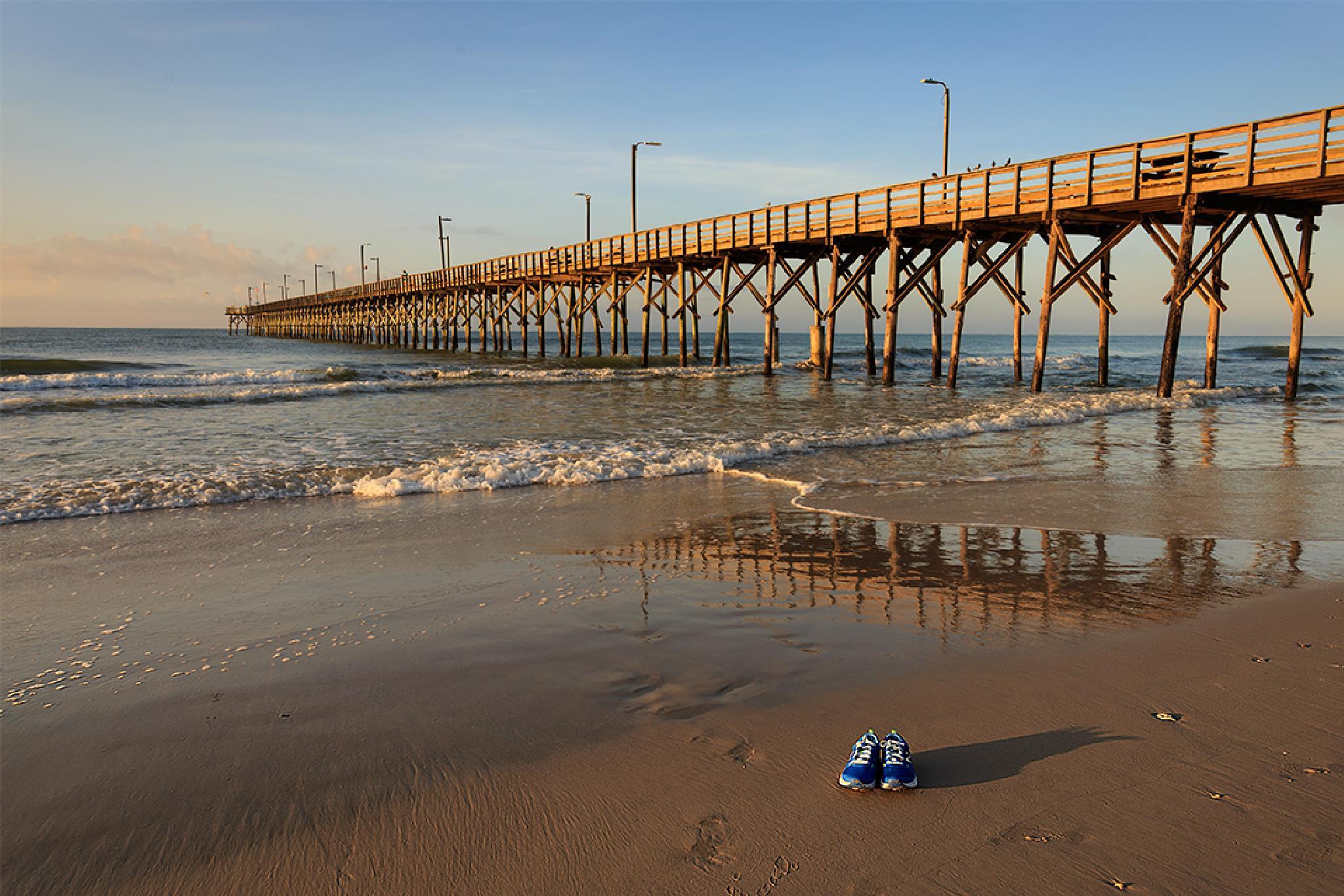 Topsail Beach, NC  by Mirela Savu