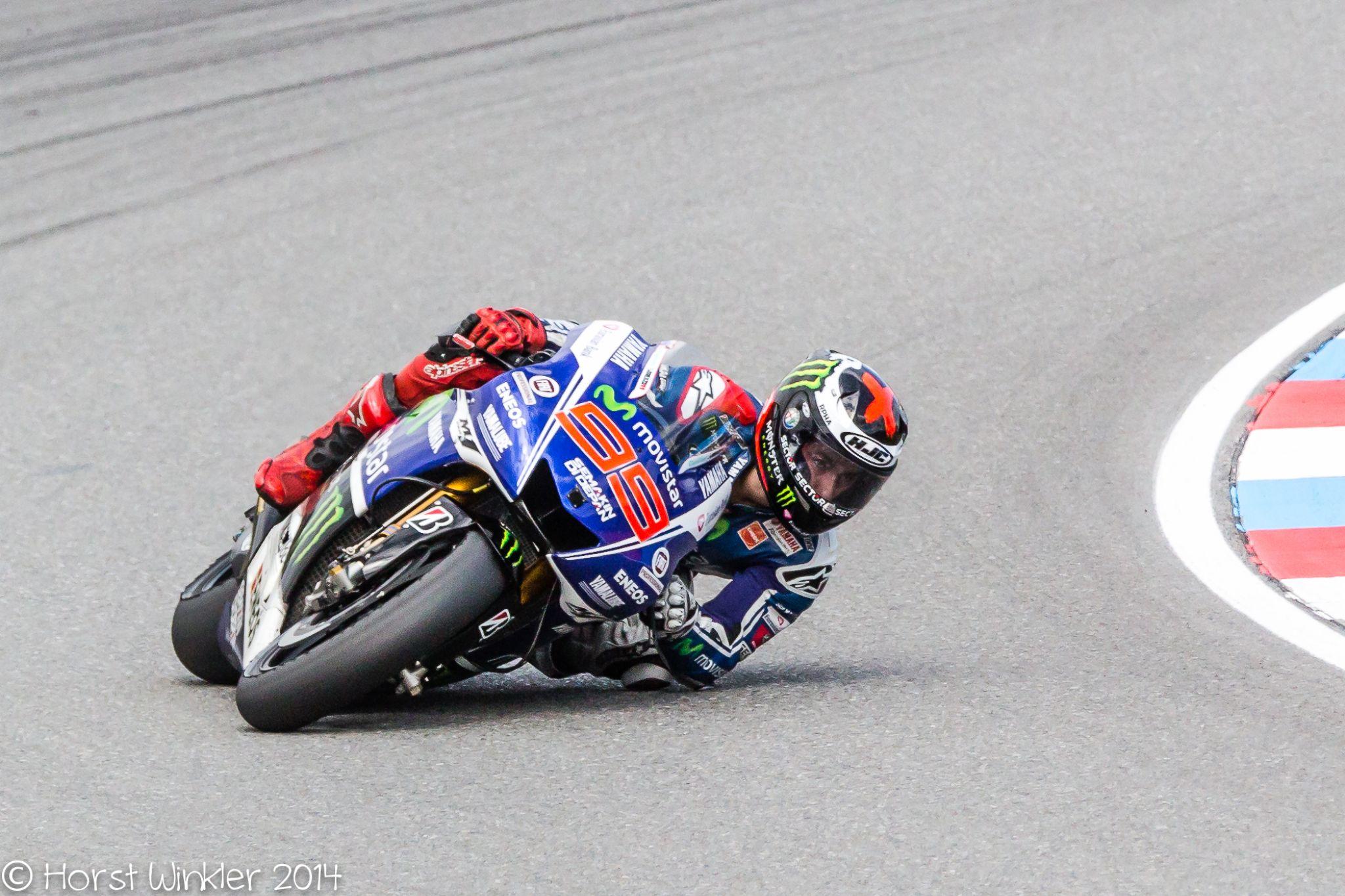 Jorge Lorenzo´s race by icefish