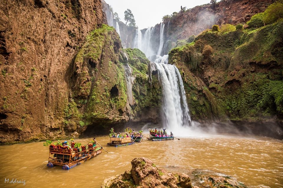 Water Falls in Morocco by Your Morocco Tour