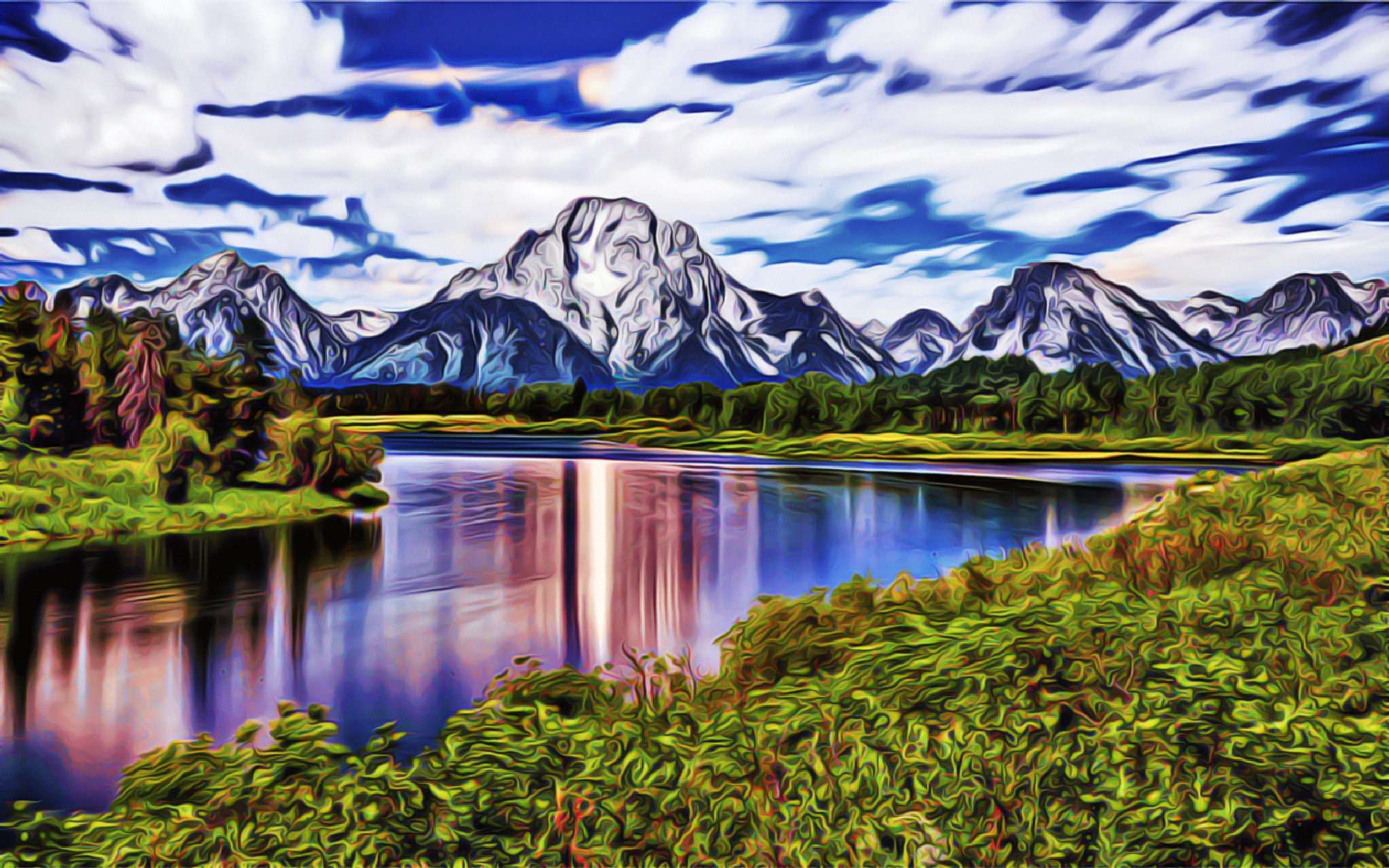 The Ski Resort by zertium