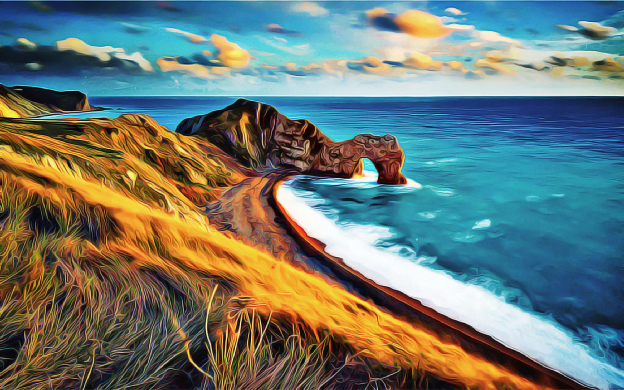 The Beach by zertium