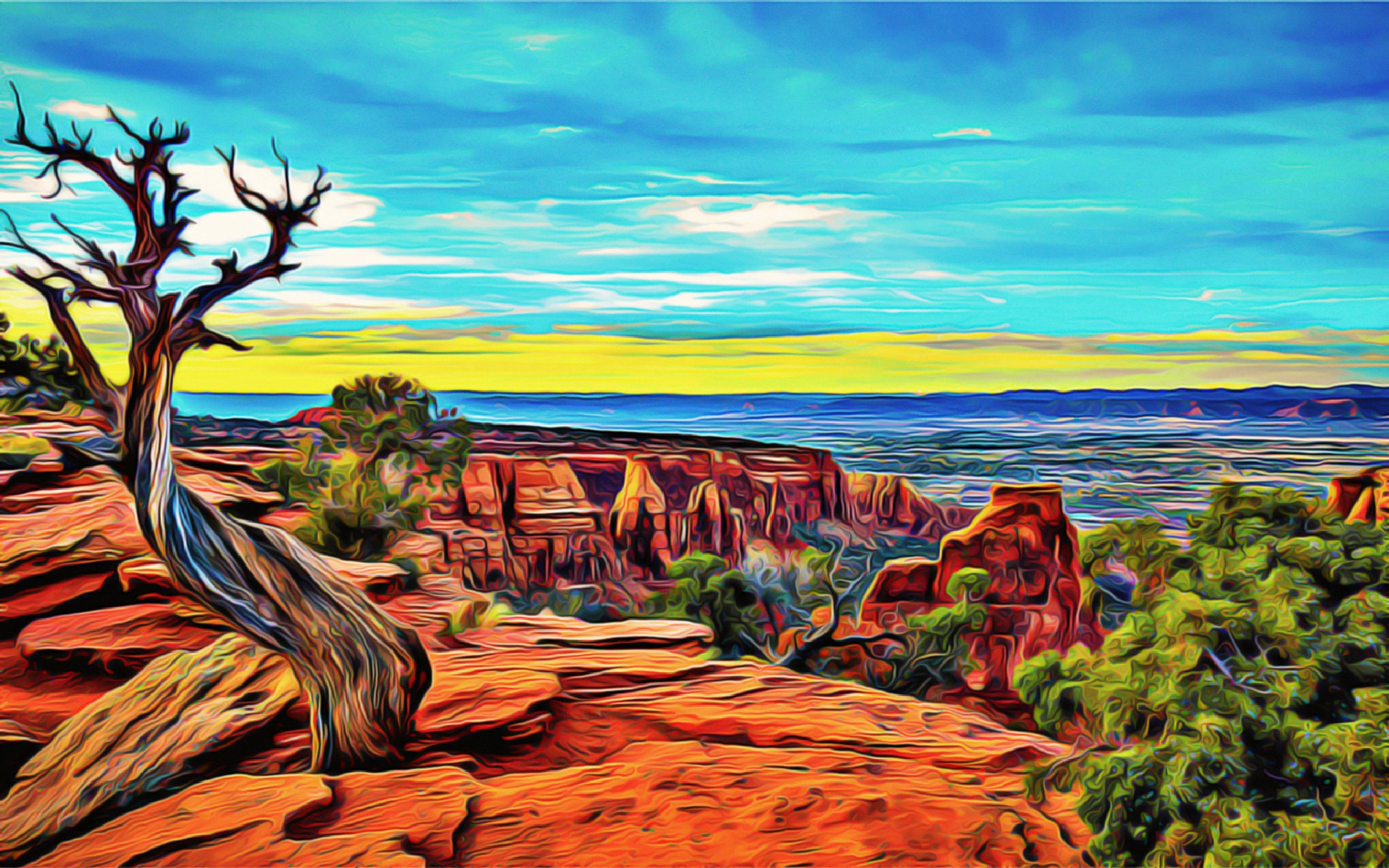 Grand Canyon by zertium