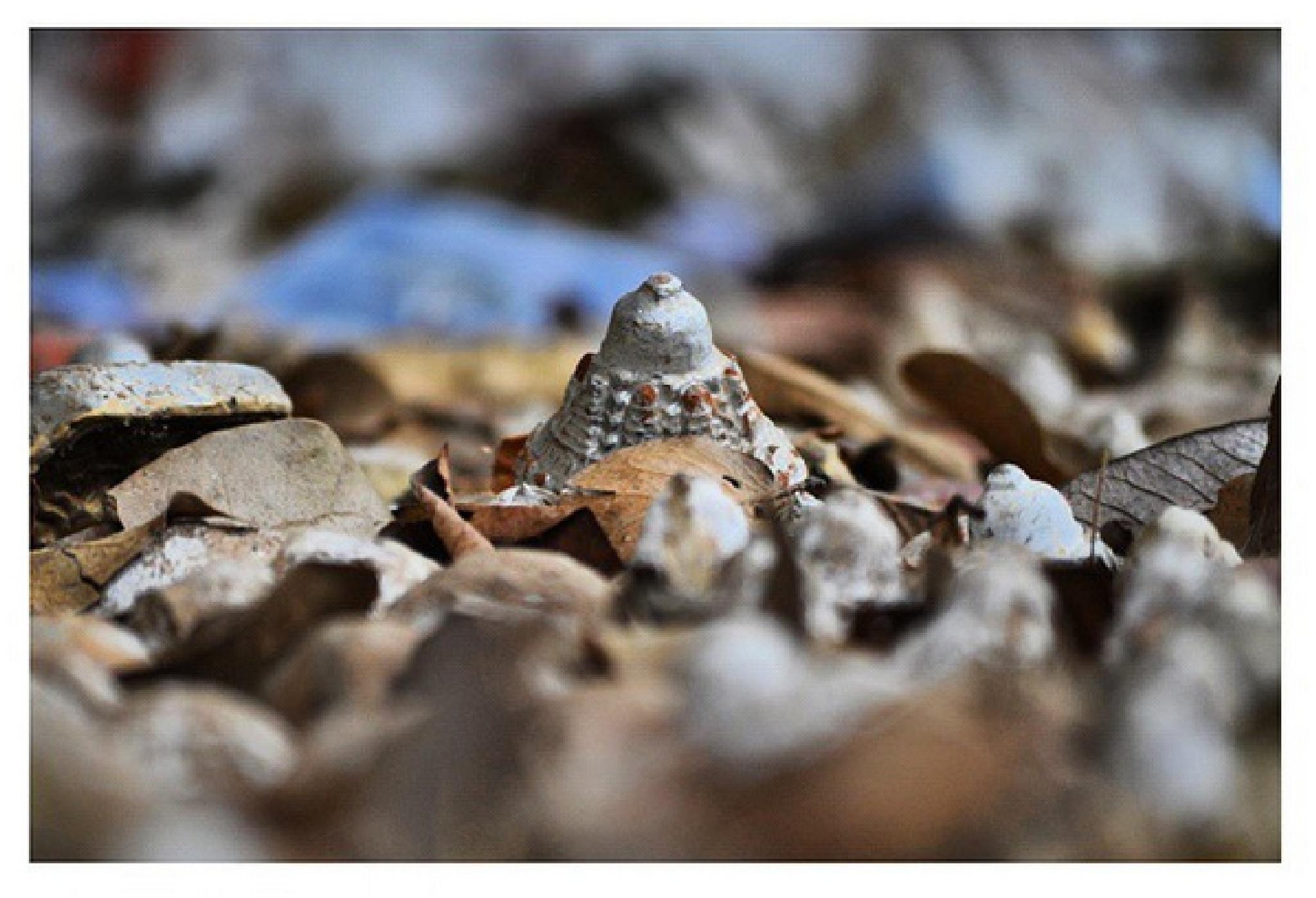 Small Stupa by Keunzang Deki