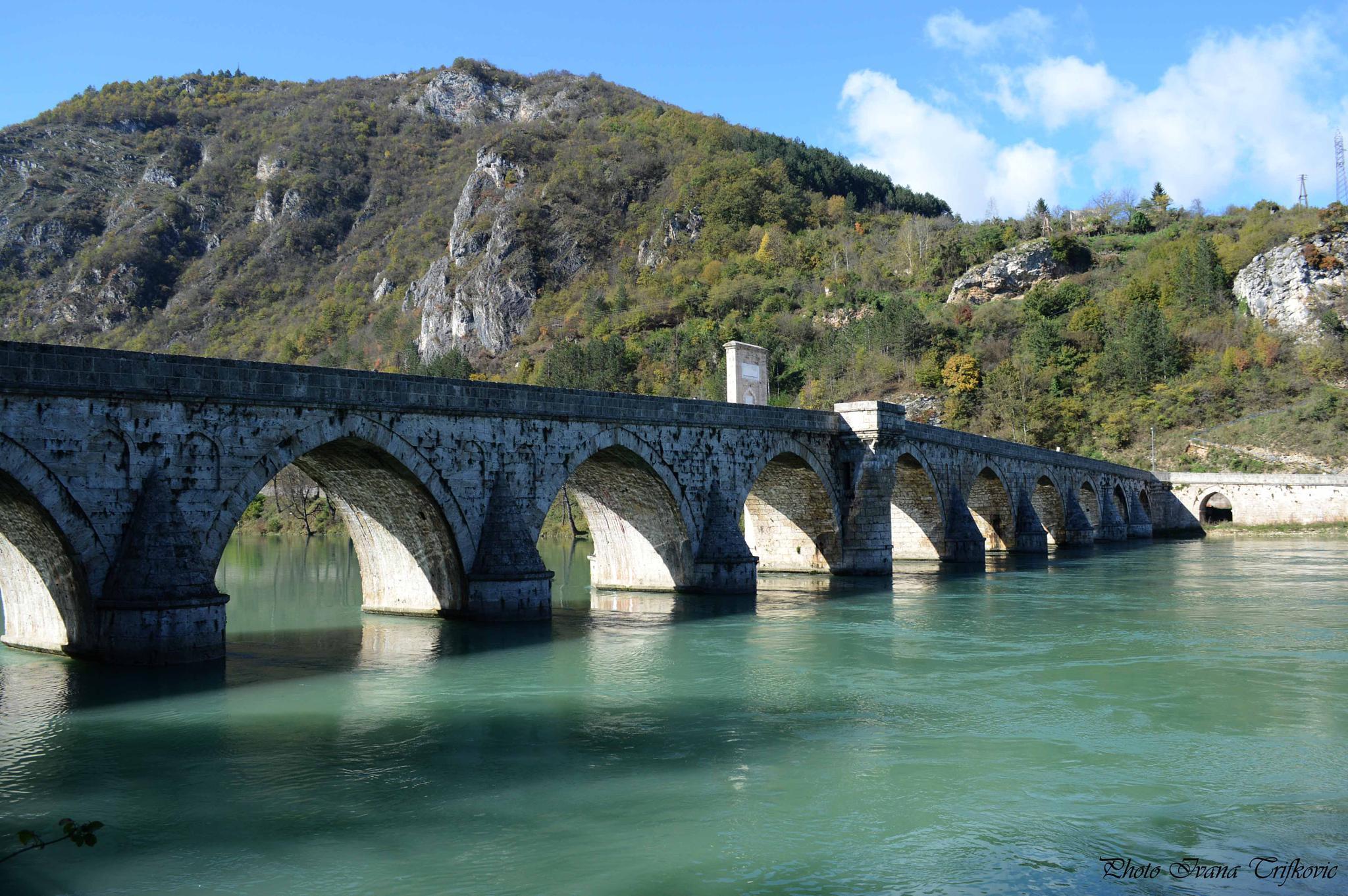 Bridge on the River Drina   by ivanatrifkovic