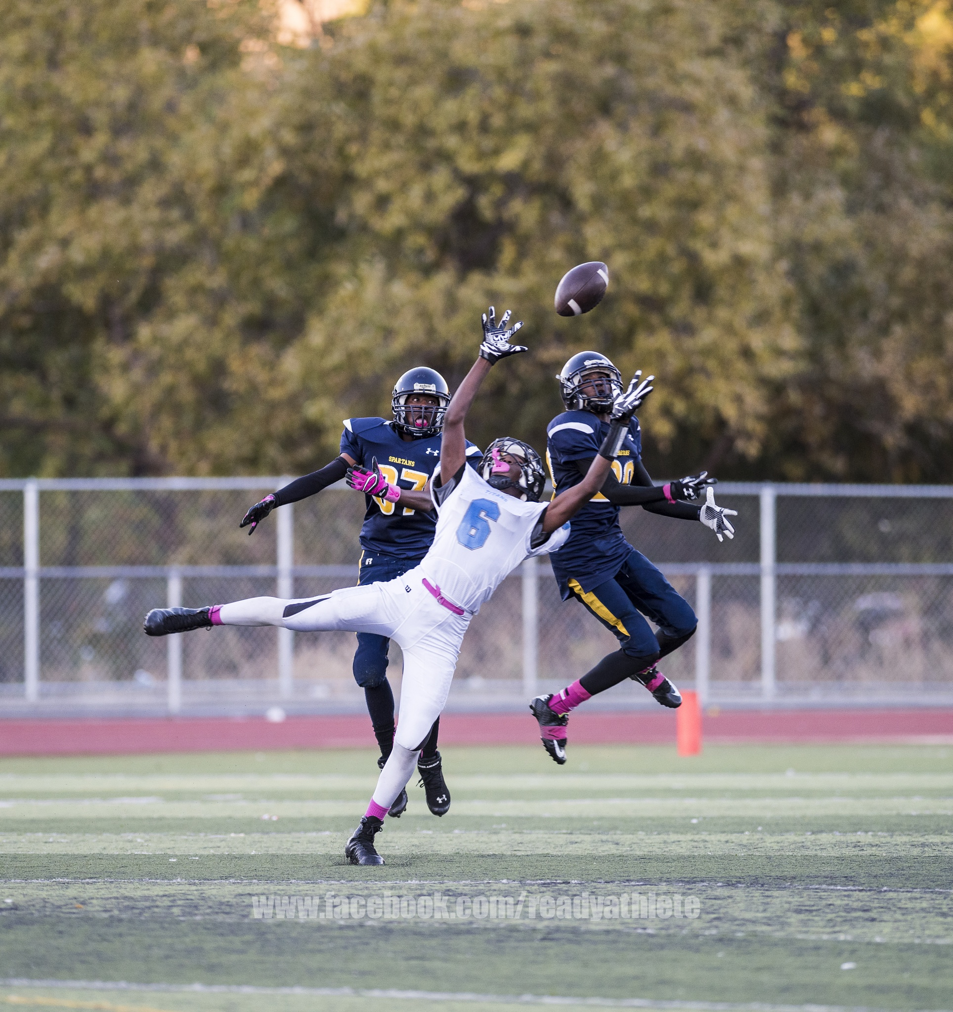 Friday Night Lights Pinole Valley Spartans Vs Hercules Titans. by Ready Athlete Sports Photography