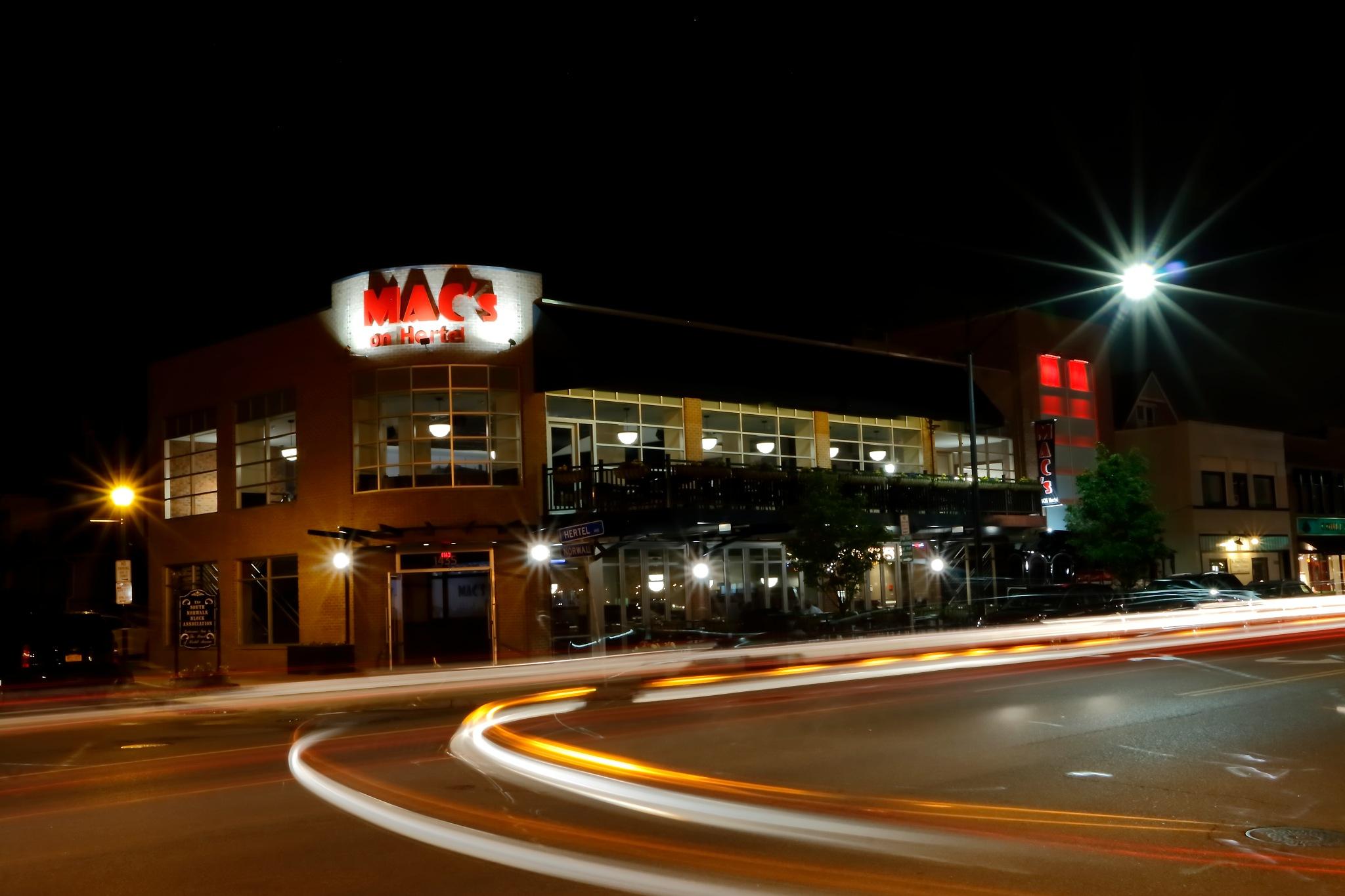 Restaurant Mac's on Hertel by Daniel J. Ruggiero