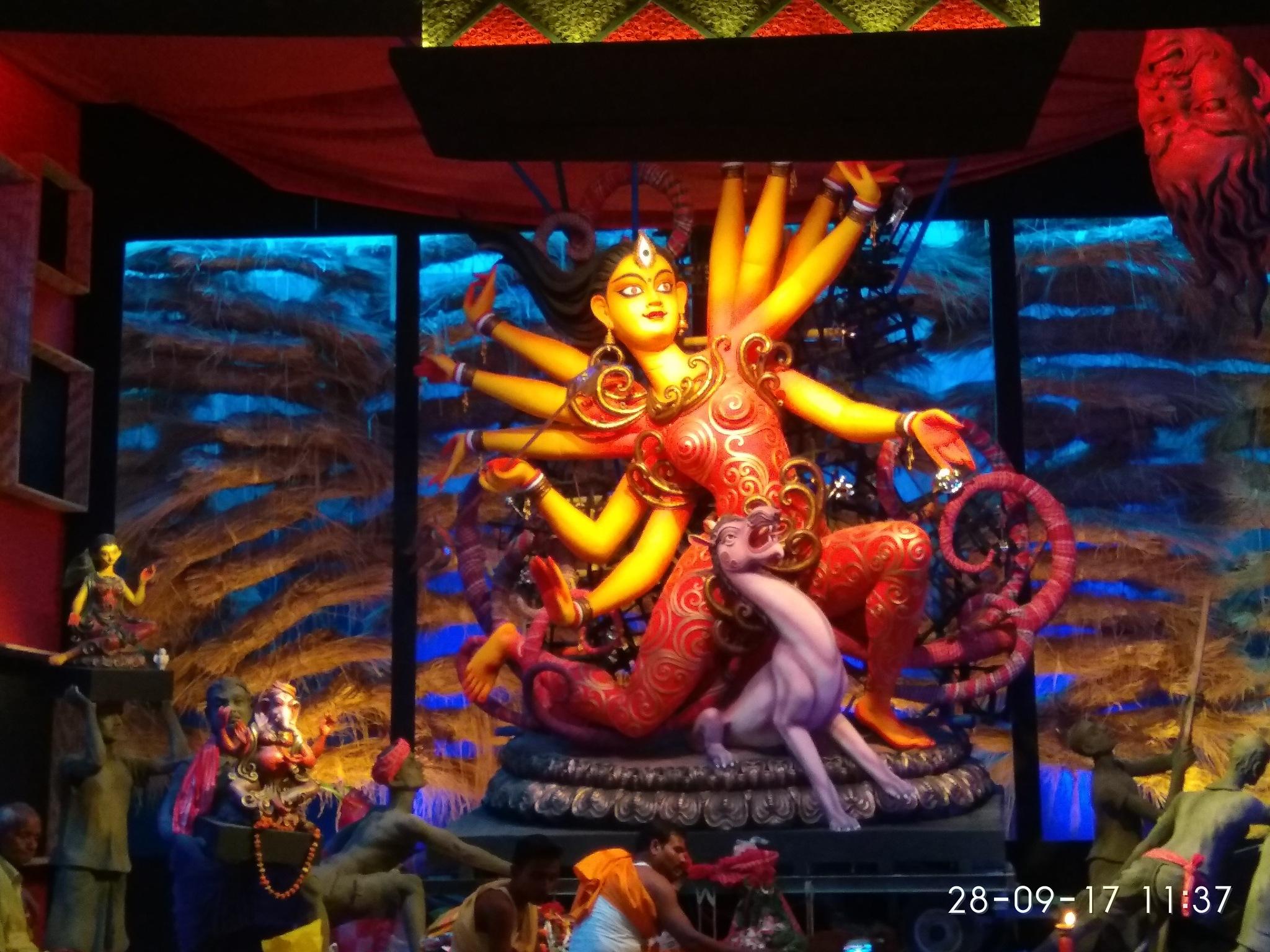 Durga Pratima by Dibyendu Chatterjii