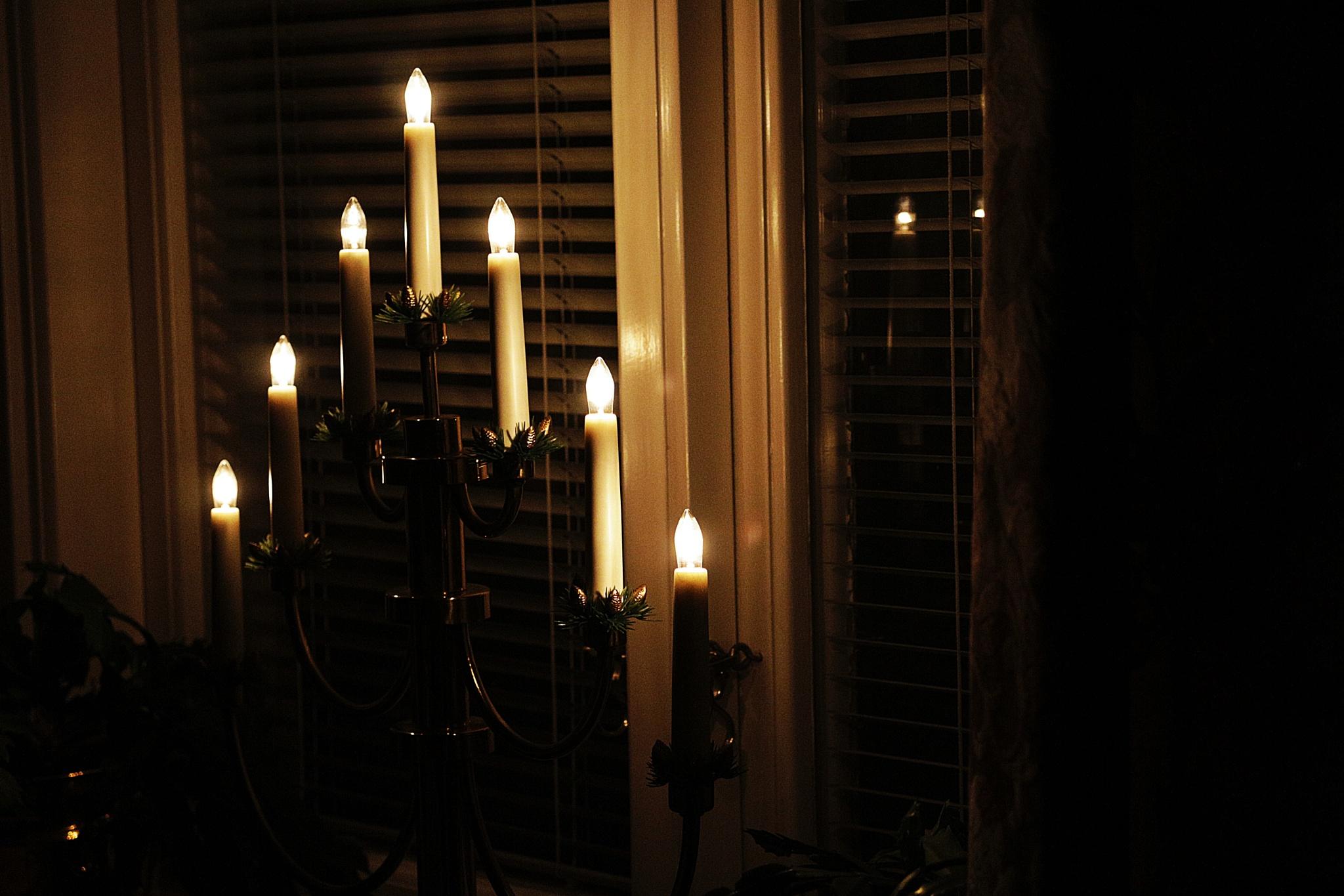 Lighting up the window... by AllShapesOfArt