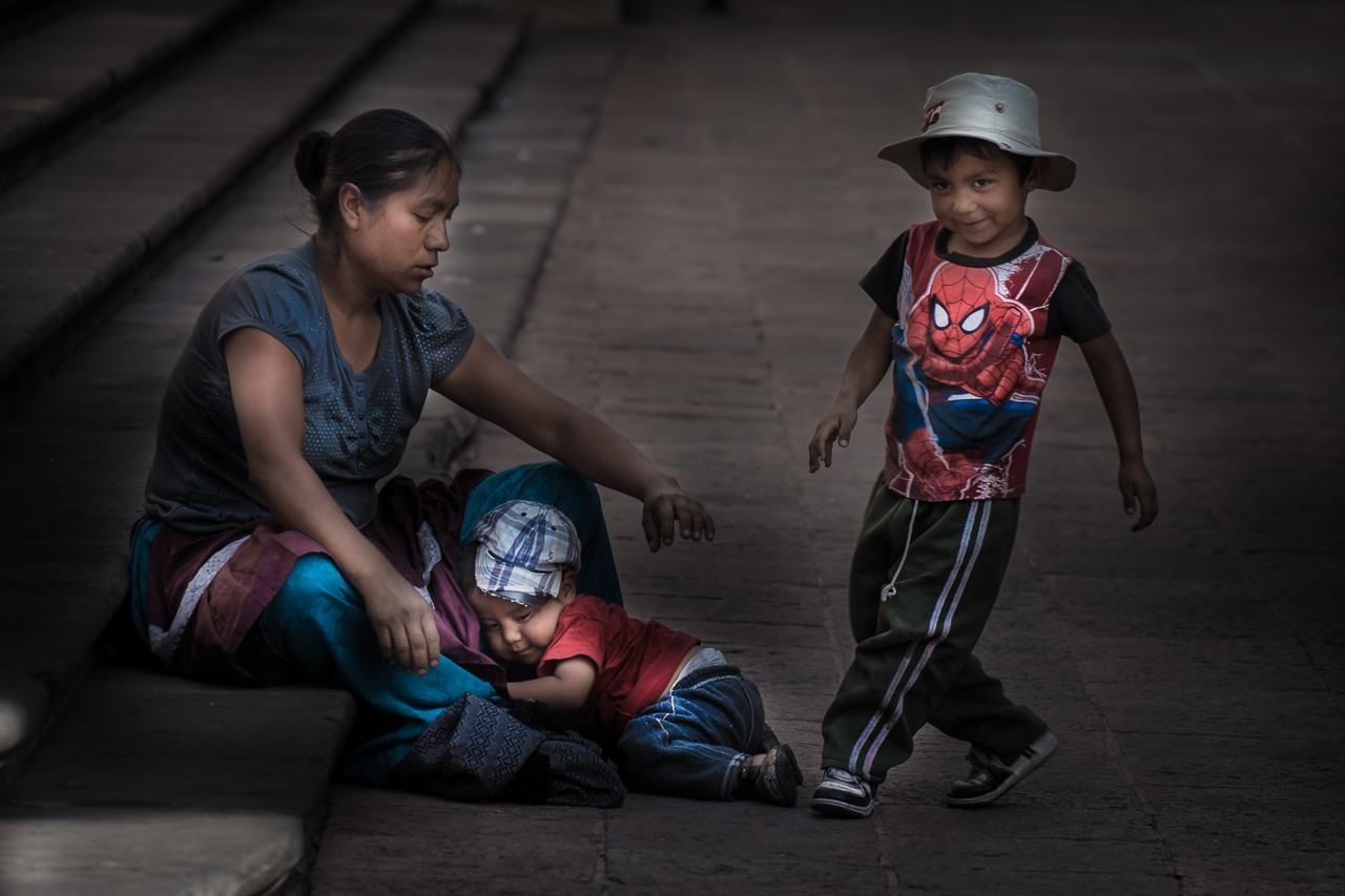 Photo in People #people #kids #kick #playing #play #rascals #mother #work