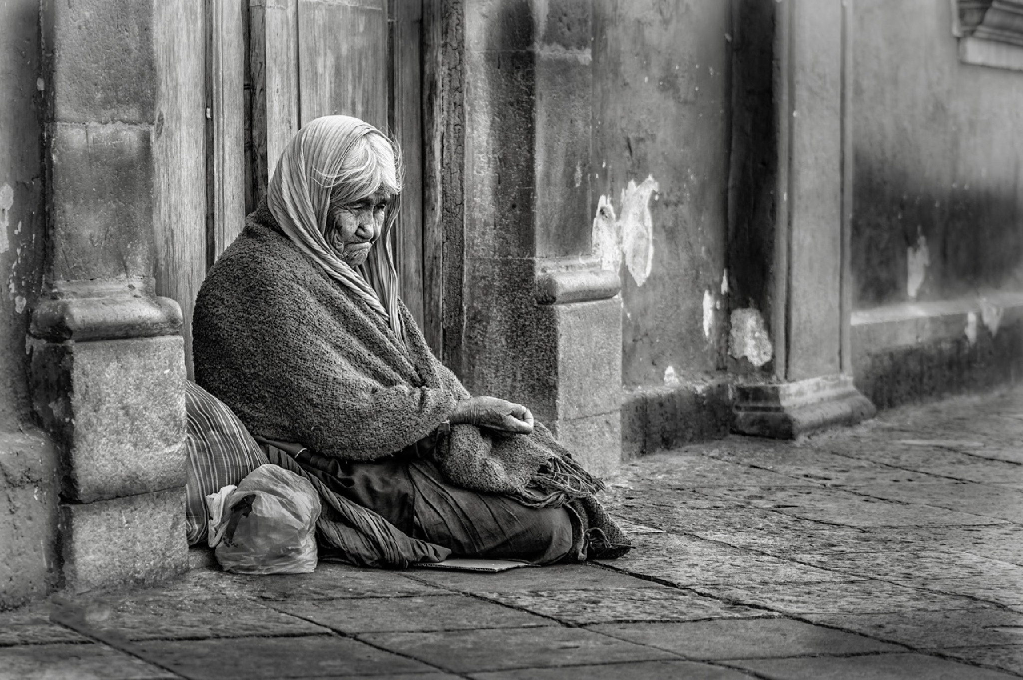 Waiting for a coin. by RobHarp.com