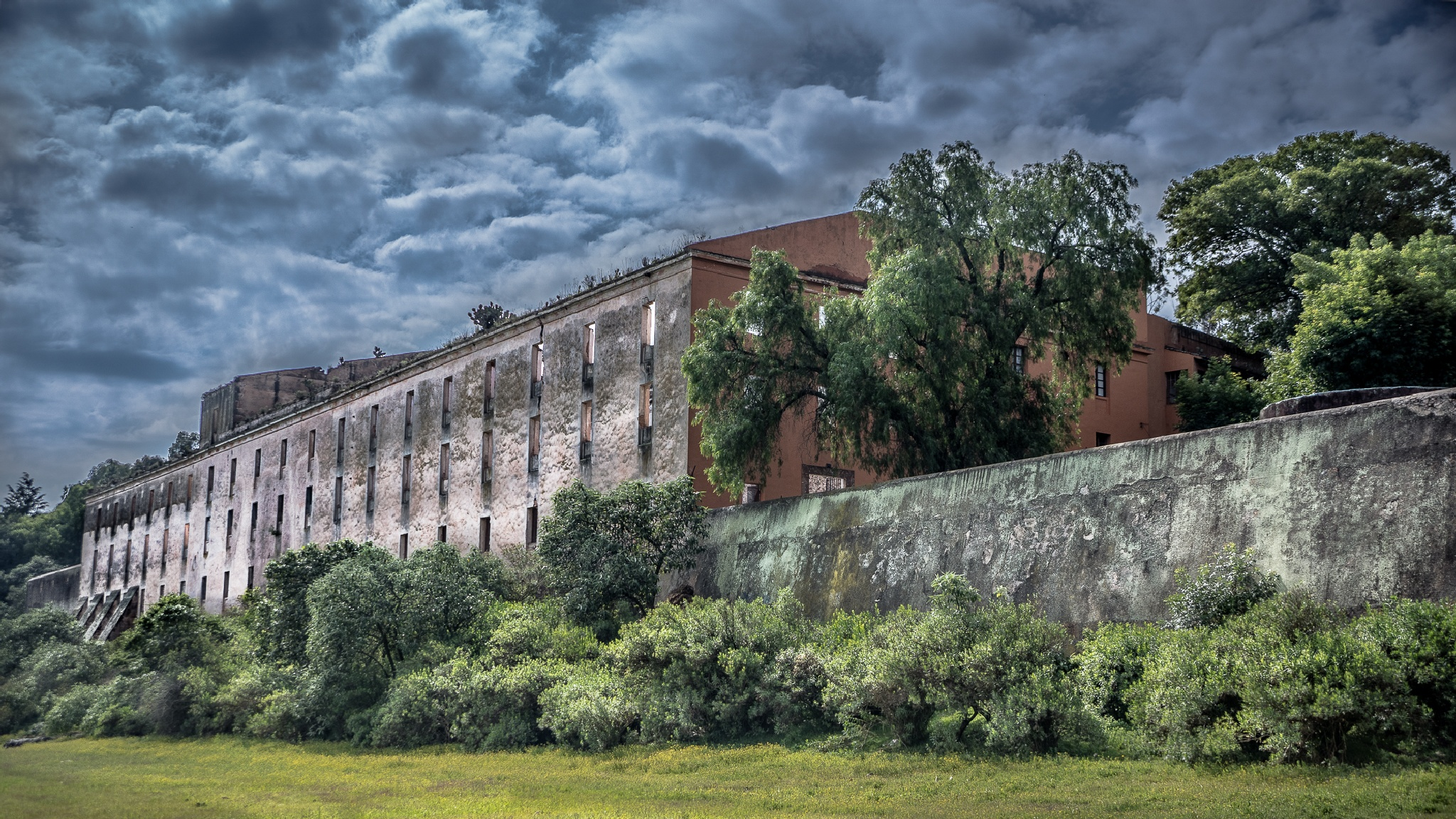 Abandoned fabrics factory by RobHarp.com