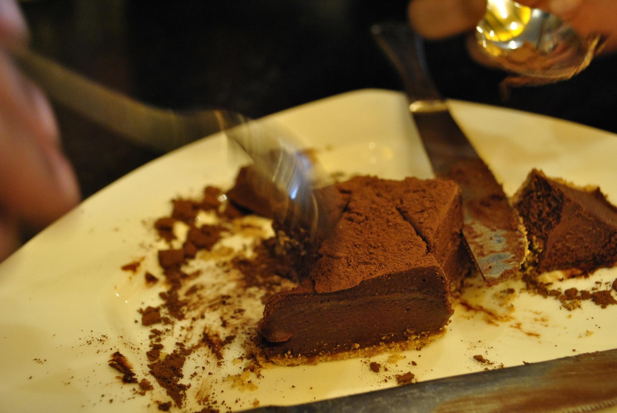 Eggless Chocolate Cheesecake  by Jyoti P. Deka